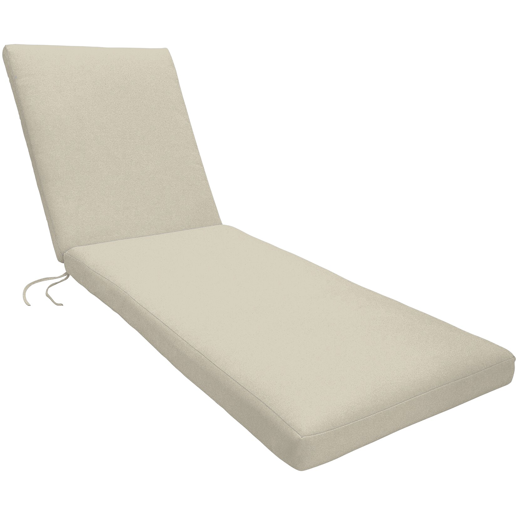 Wayfair custom outdoor cushions knife edge outdoor chaise for Chaise lounge cushion outdoor