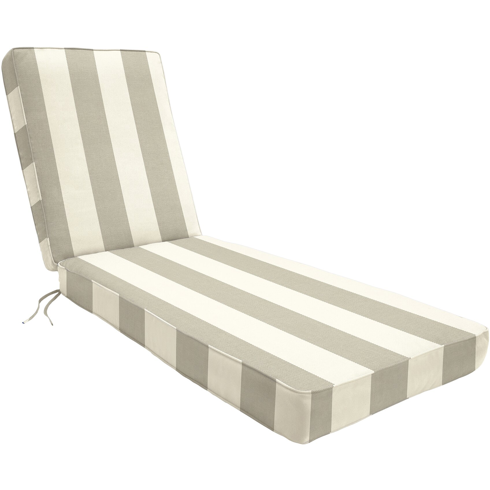 Wayfair custom outdoor cushions outdoor sunbrella chaise for Chaise lounge cushion outdoor