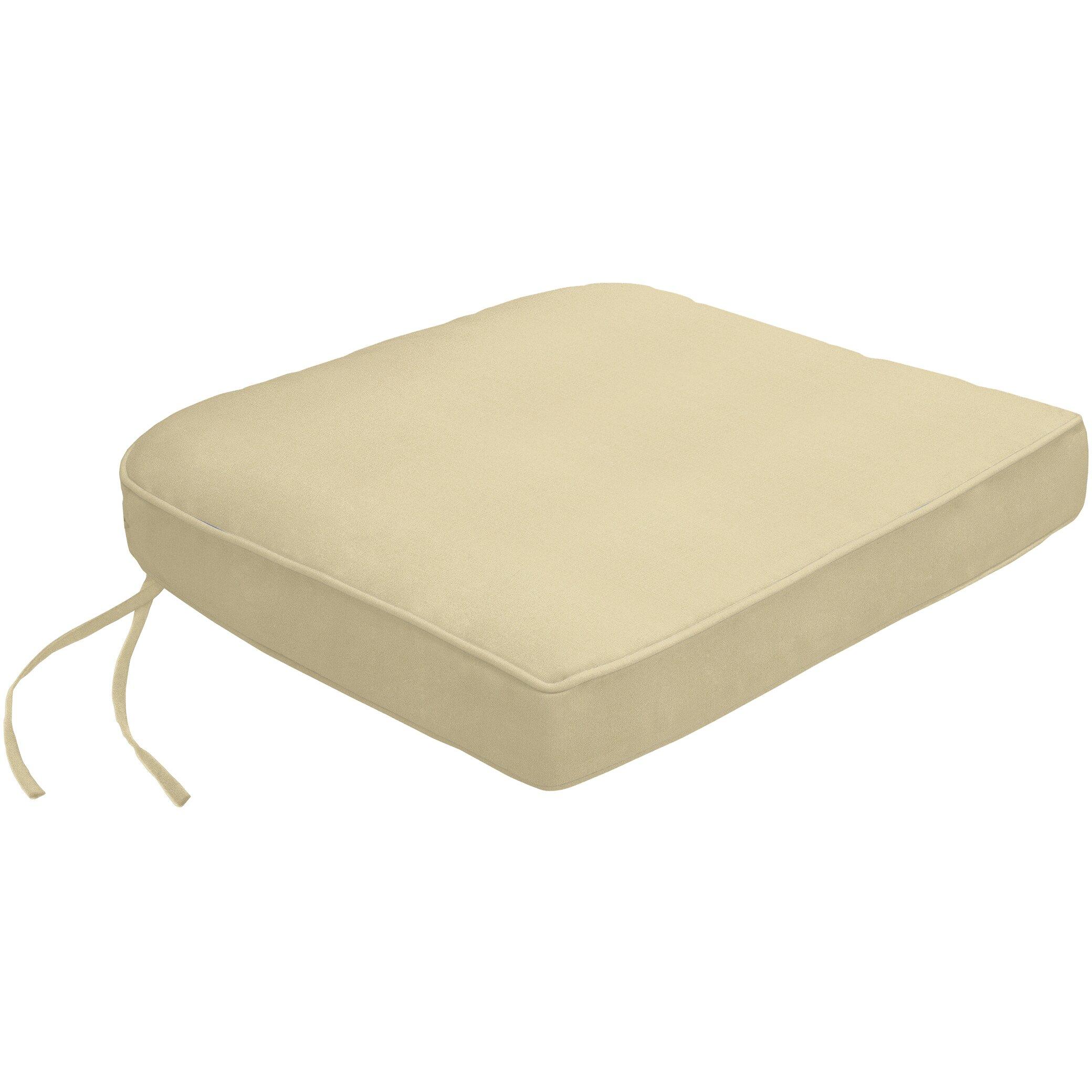 Wayfair Custom Outdoor Cushions Double Piped Sunbrella