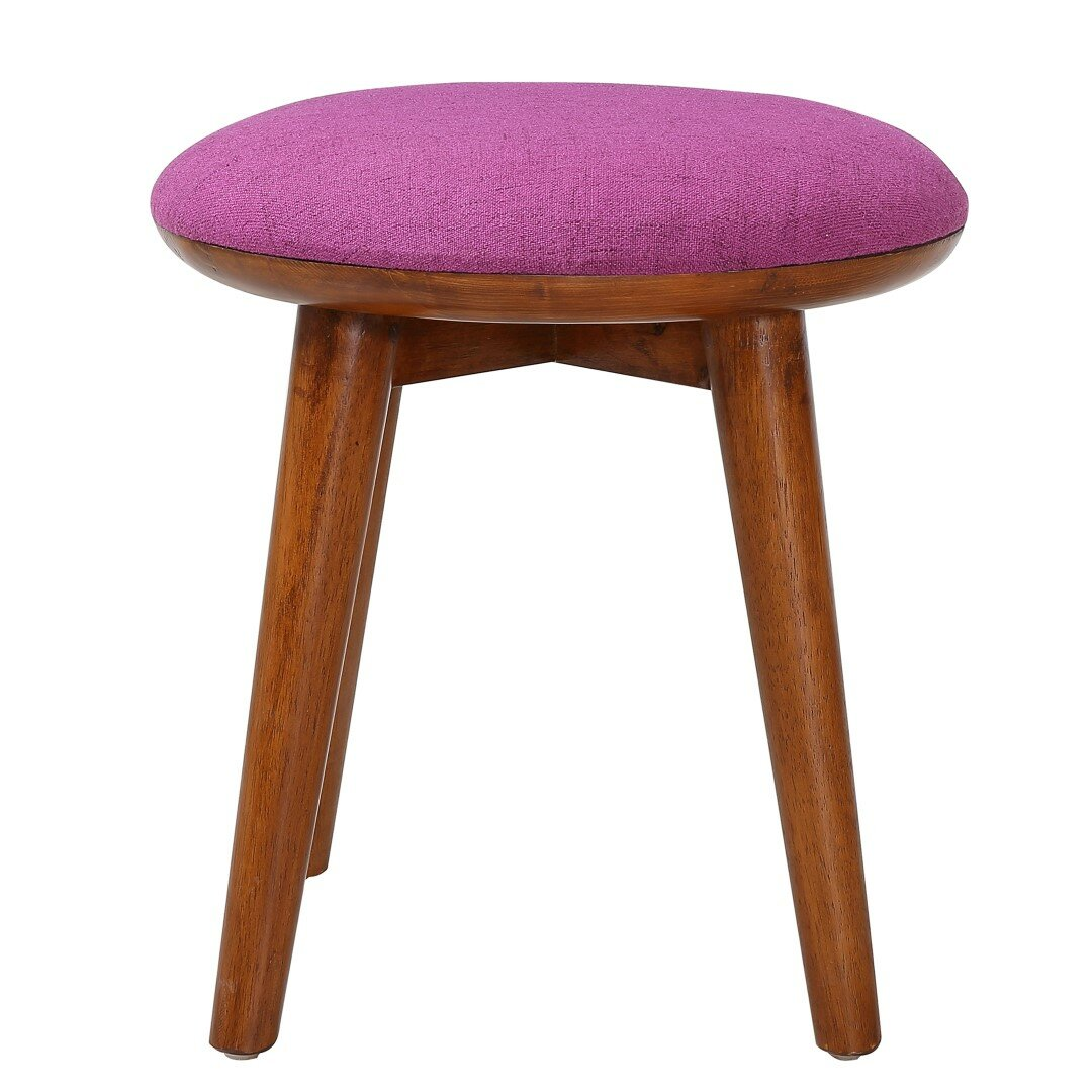 Porthos Home Pixie Upholstered Stool Wayfair