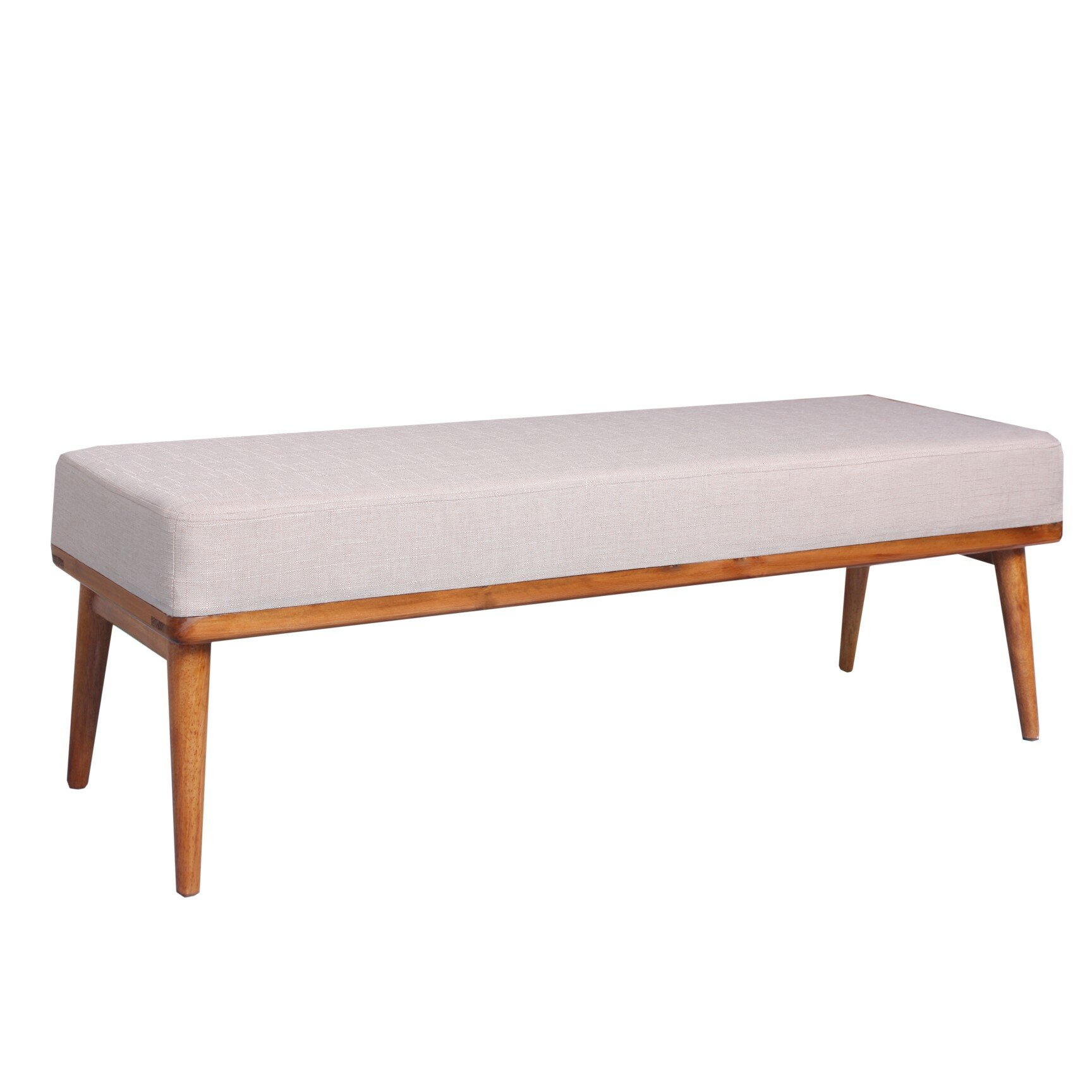 Porthos home vivienne upholstered bedroom bench reviews for Bedroom upholstered bench