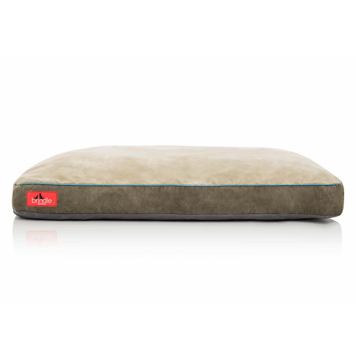 Brindle Shredded Memory Foam Dog Bed