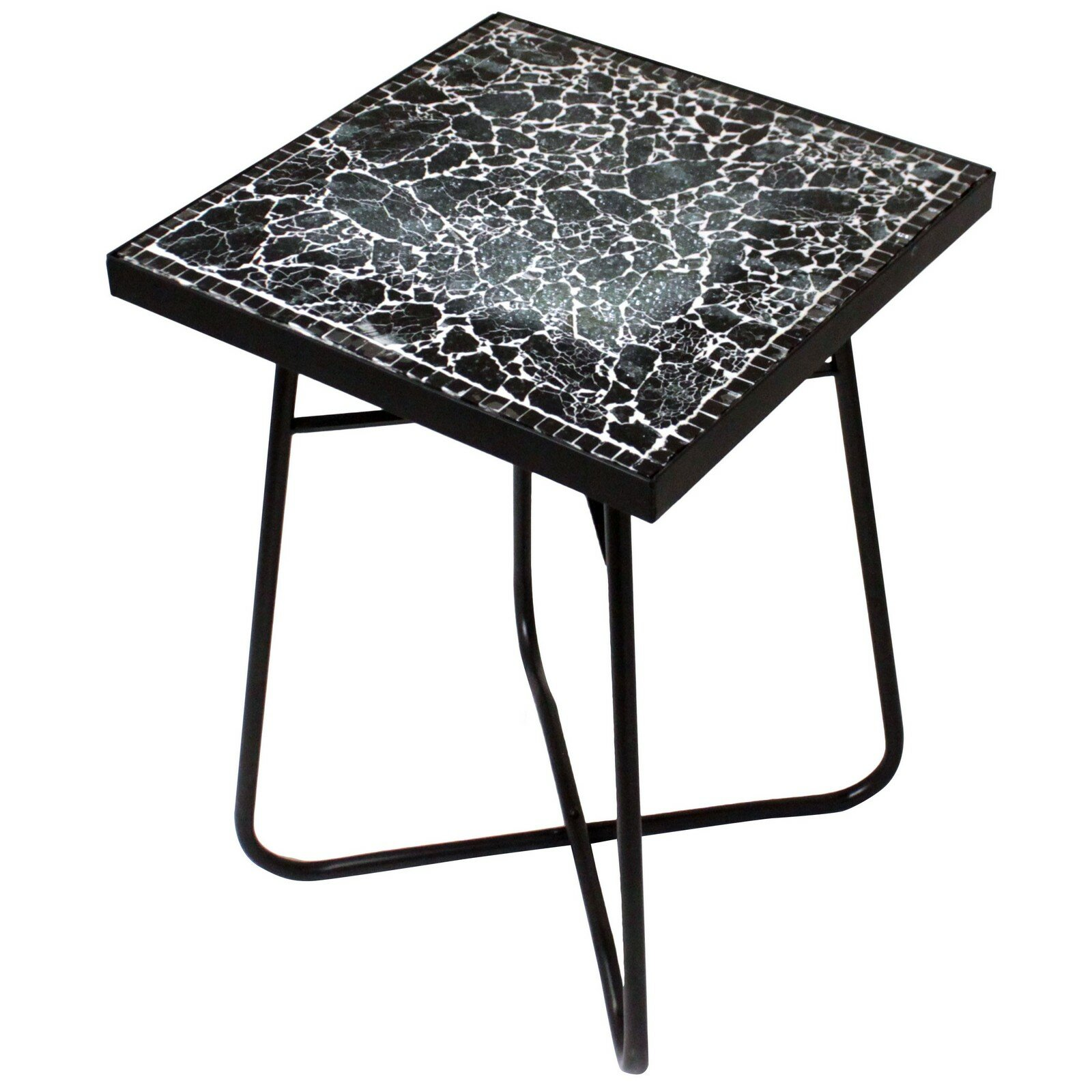 Urban Designs Cracked Black Mosaic End Table  Wayfair. Tracing Table. Dining Table For Small Space. How To Keep Office Desk Organized. Counter Height Round Dining Table. Round Counter Height Table And Chairs. 48 Drawer Storage Cabinet. Glasgow Airport British Airways Desk. White Office Desk Chair