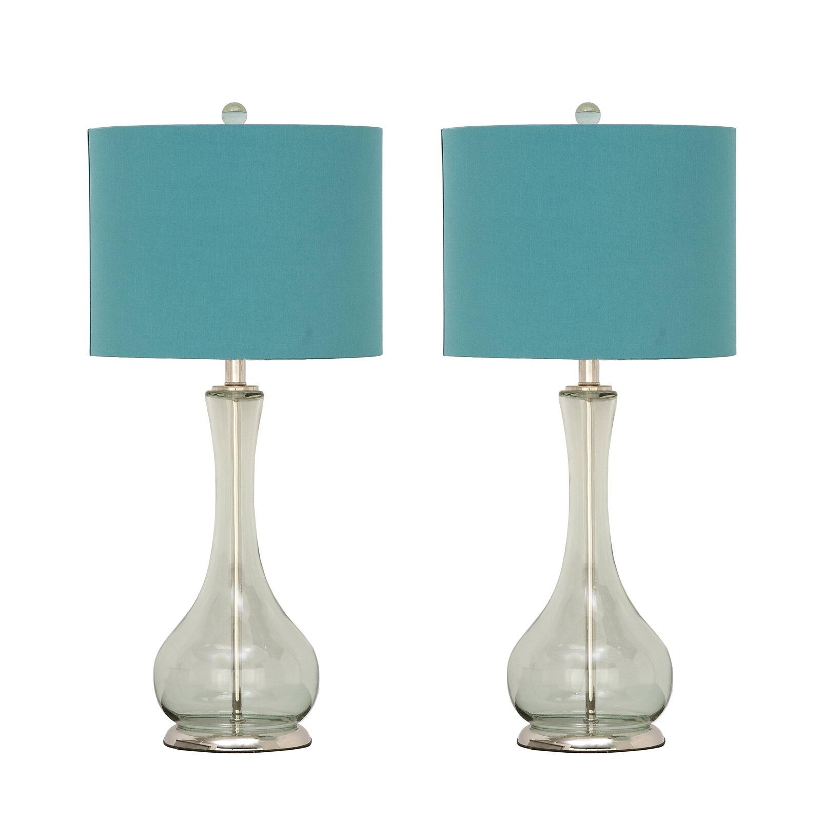 urban designs feriha 28 table lamps set of 2 wayfair. Black Bedroom Furniture Sets. Home Design Ideas