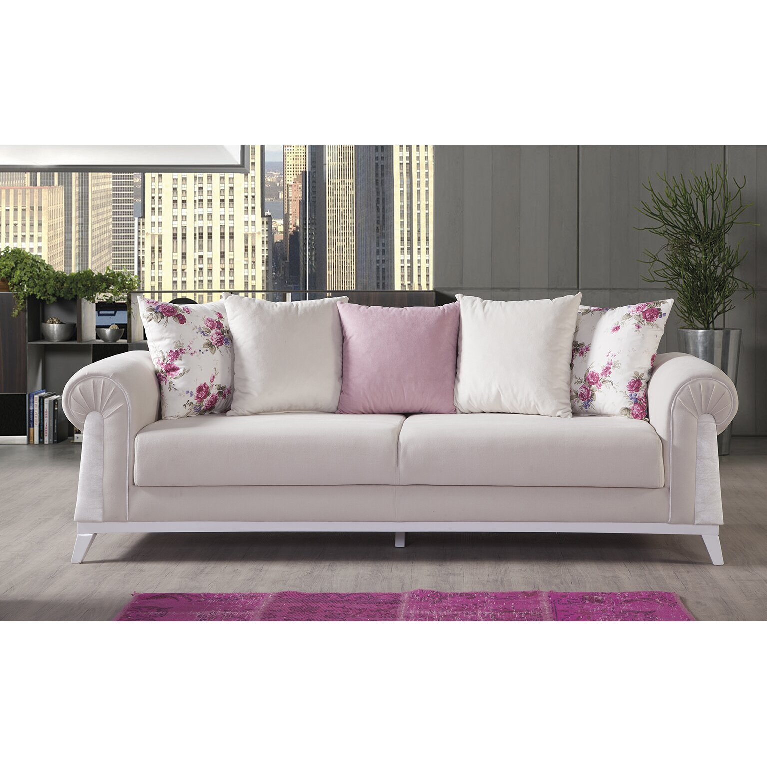 Perla Furniture London Sleeper Sofa Reviews Wayfair