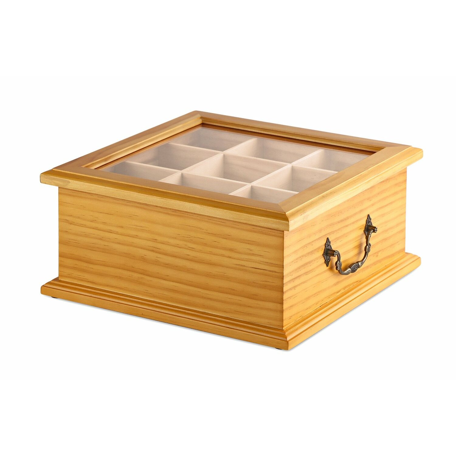 Welledia Wooden Tea Box | Wayfair