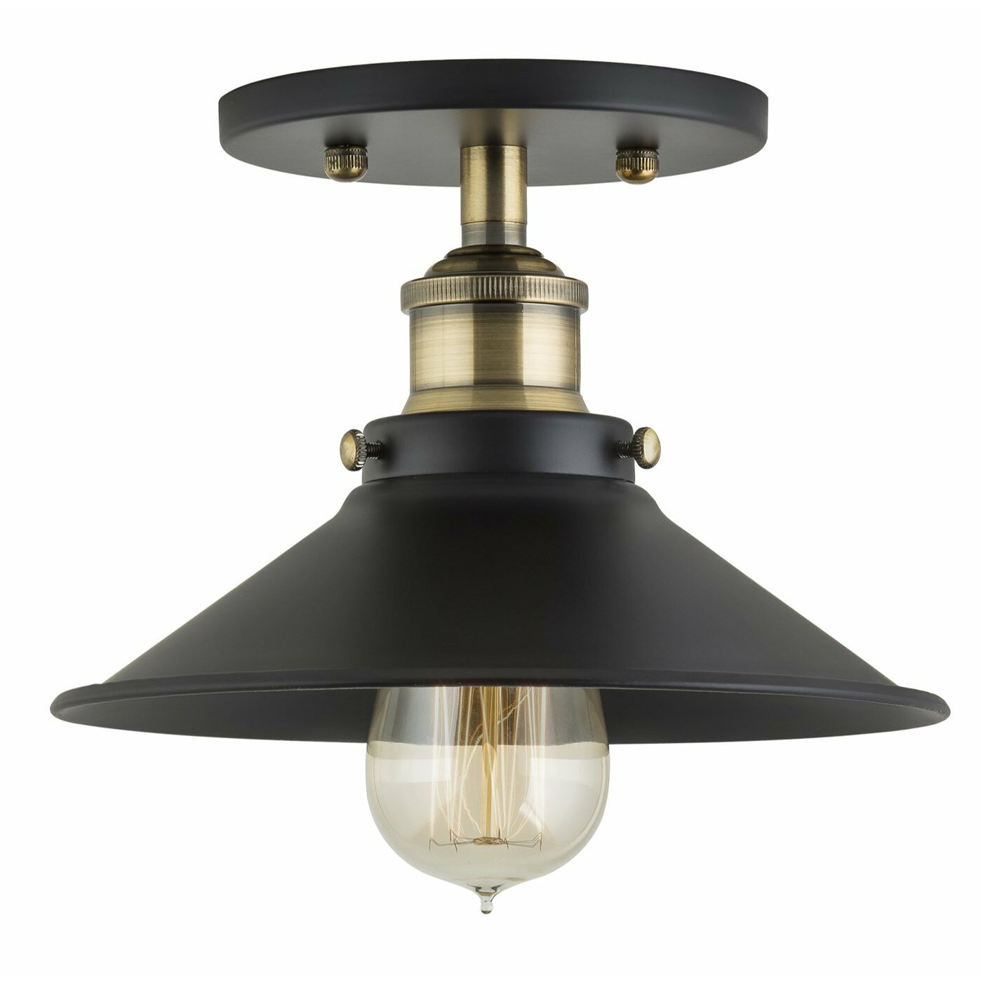 Linea Di Liara Andante 1 Light Semi Flush Mount Reviews