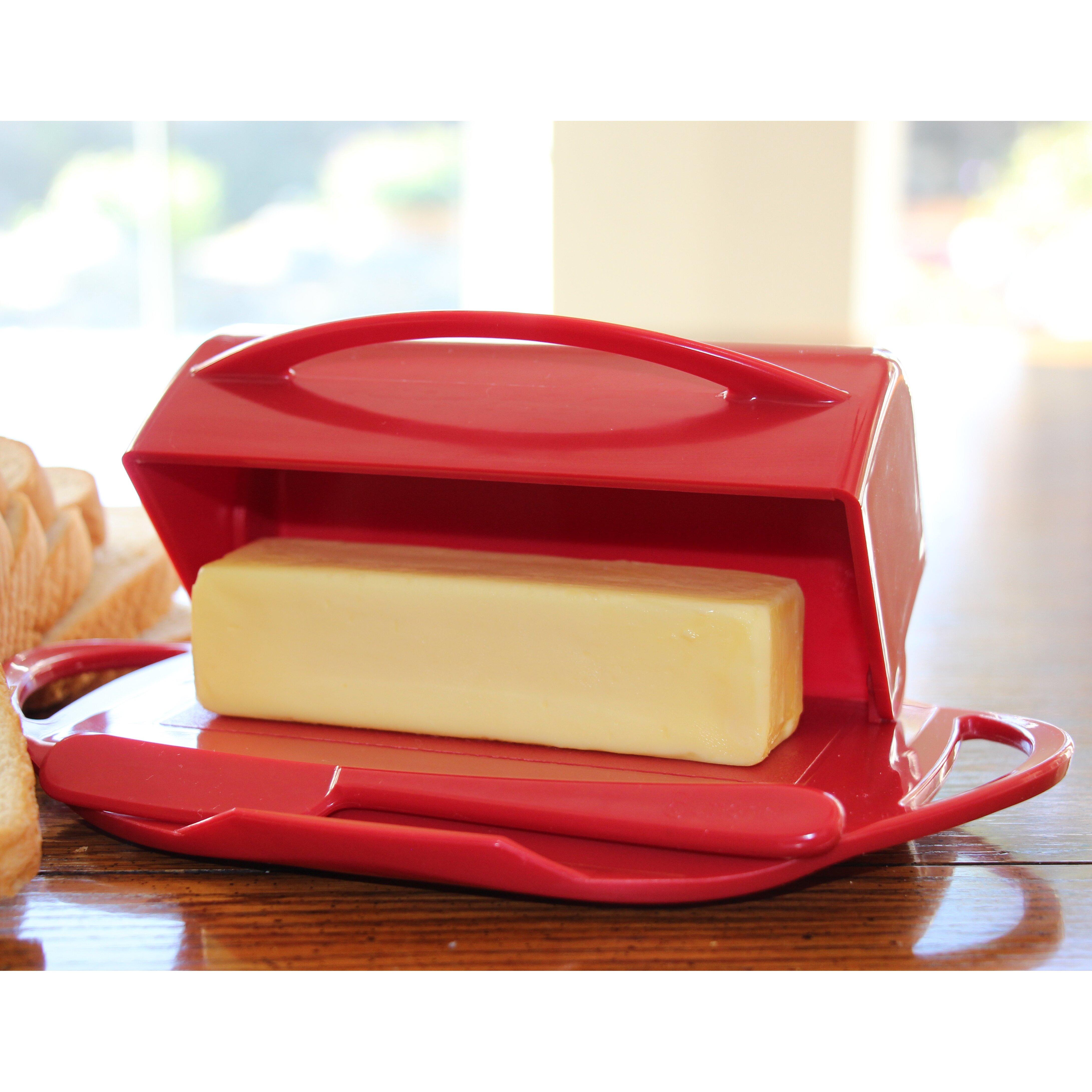 Butterie Flip Top Butter Dish Amp Reviews Wayfair