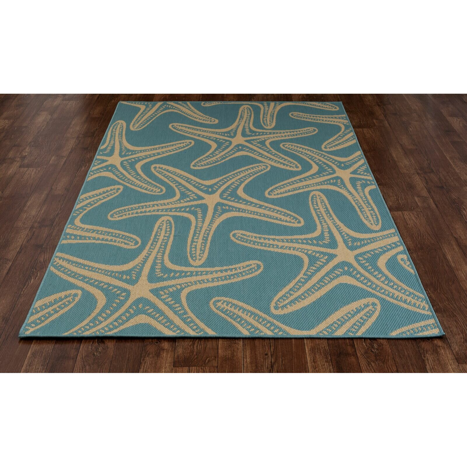 Art Carpet Plymouth Blue Indoor Outdoor Area Rug & Reviews