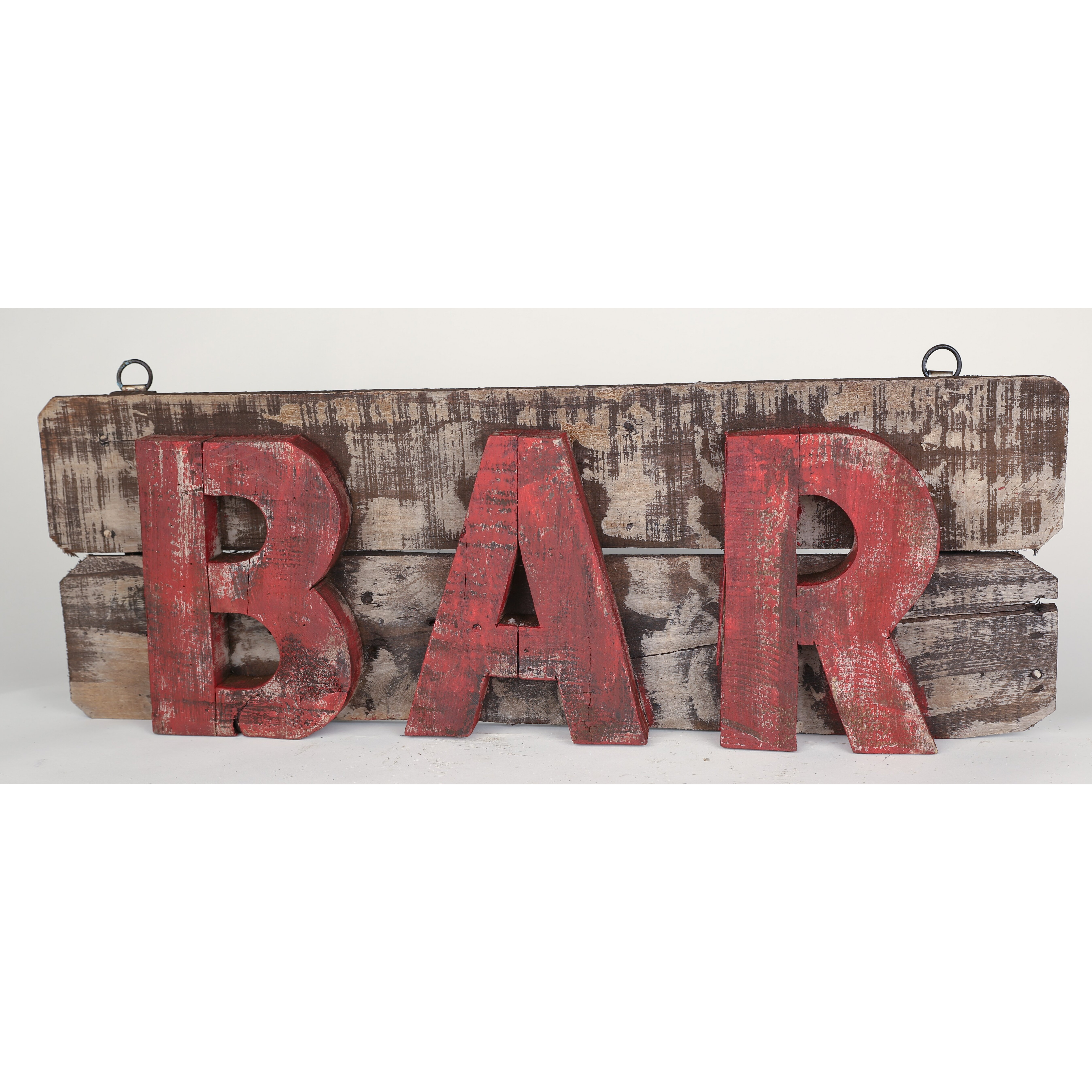 Rustic Bar Wall Decor : Myamigosimports rustic wooden bar sign wall decor wayfair