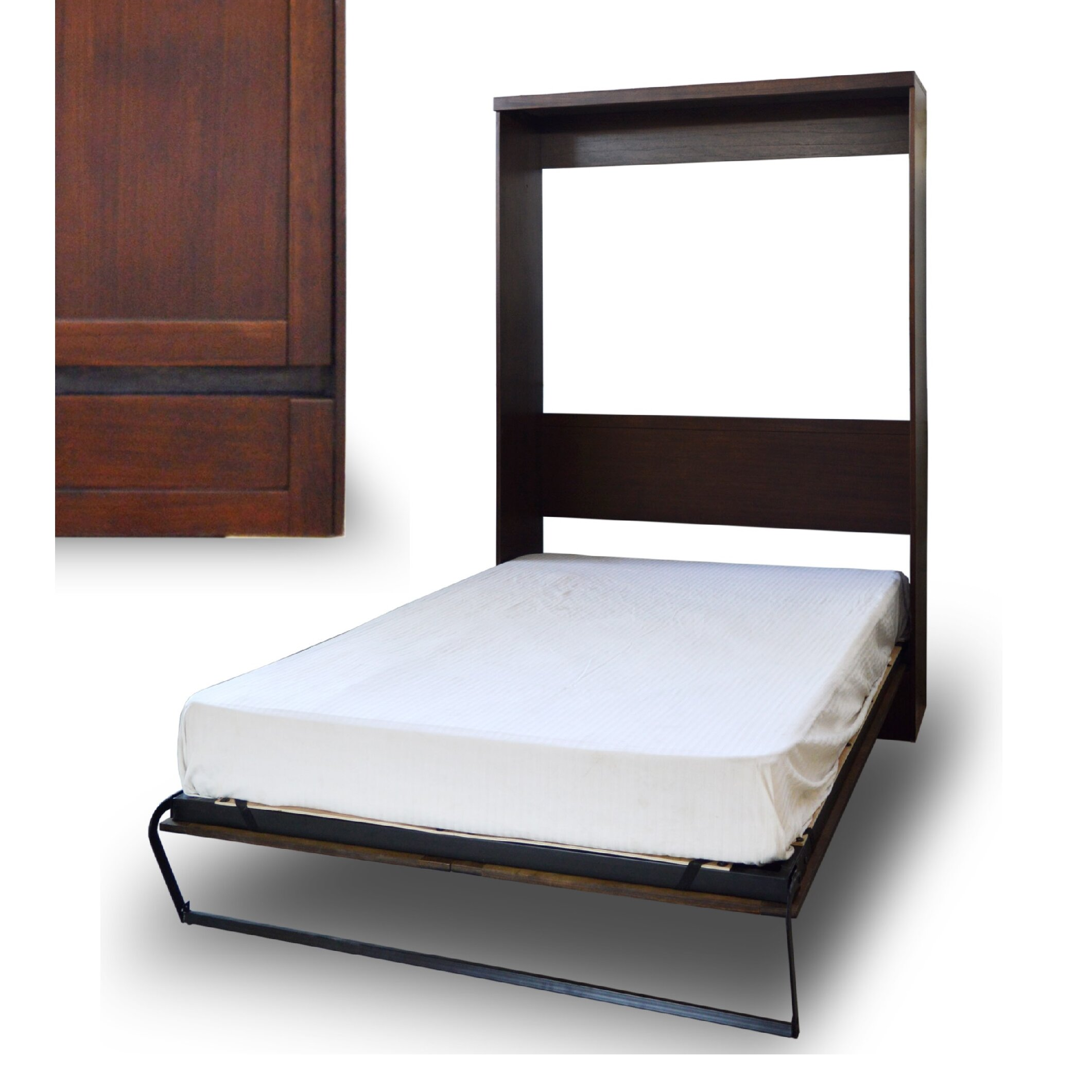 RoomAndLoft Andrew Extra-long twin Murphy Bed | Wayfair