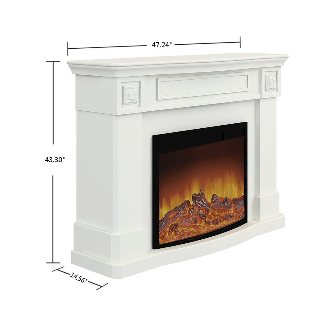 A Amp J Homes Studio Ares Alessa Electric Fireplace Amp Reviews