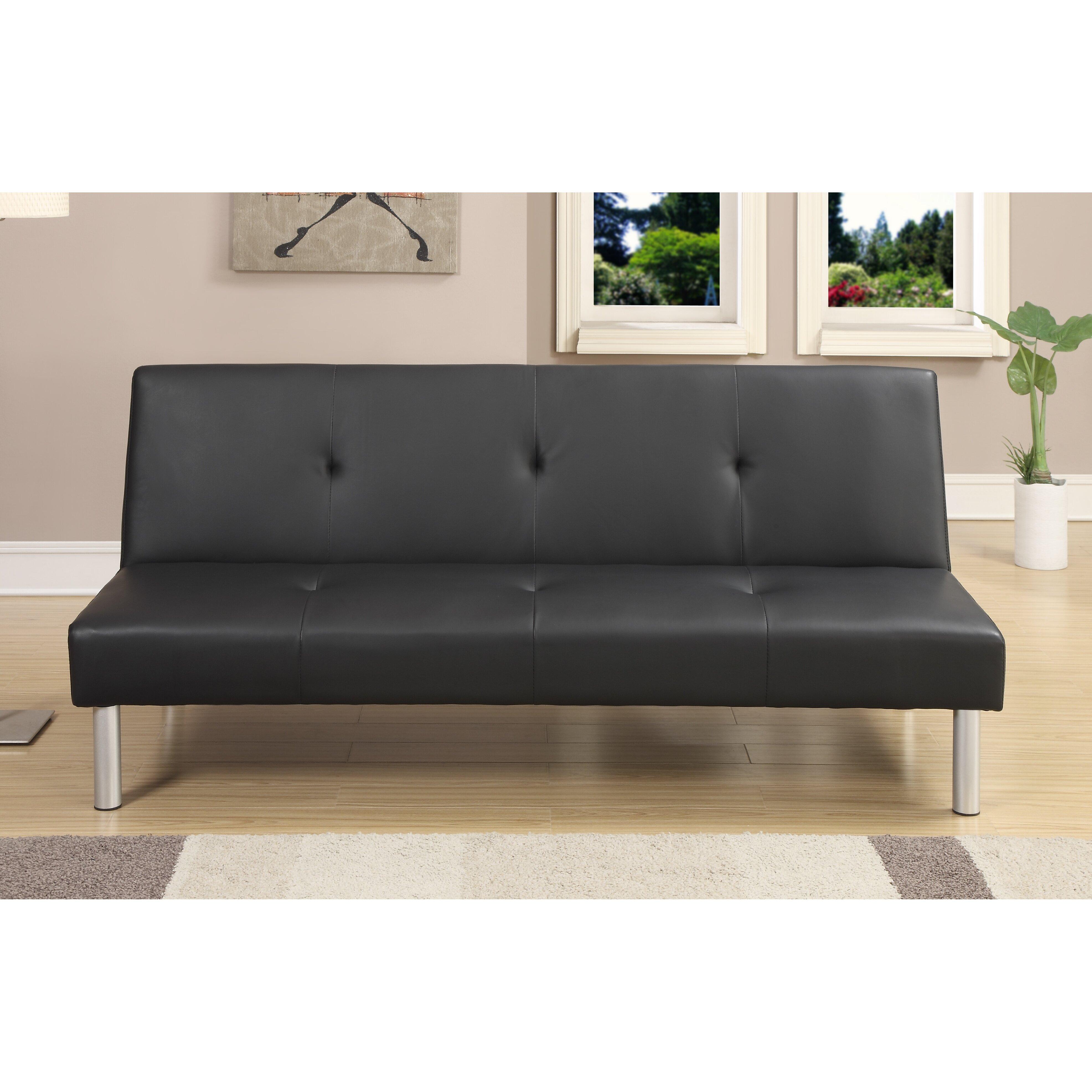a j homes studio aria sleeper convertible futon sofa