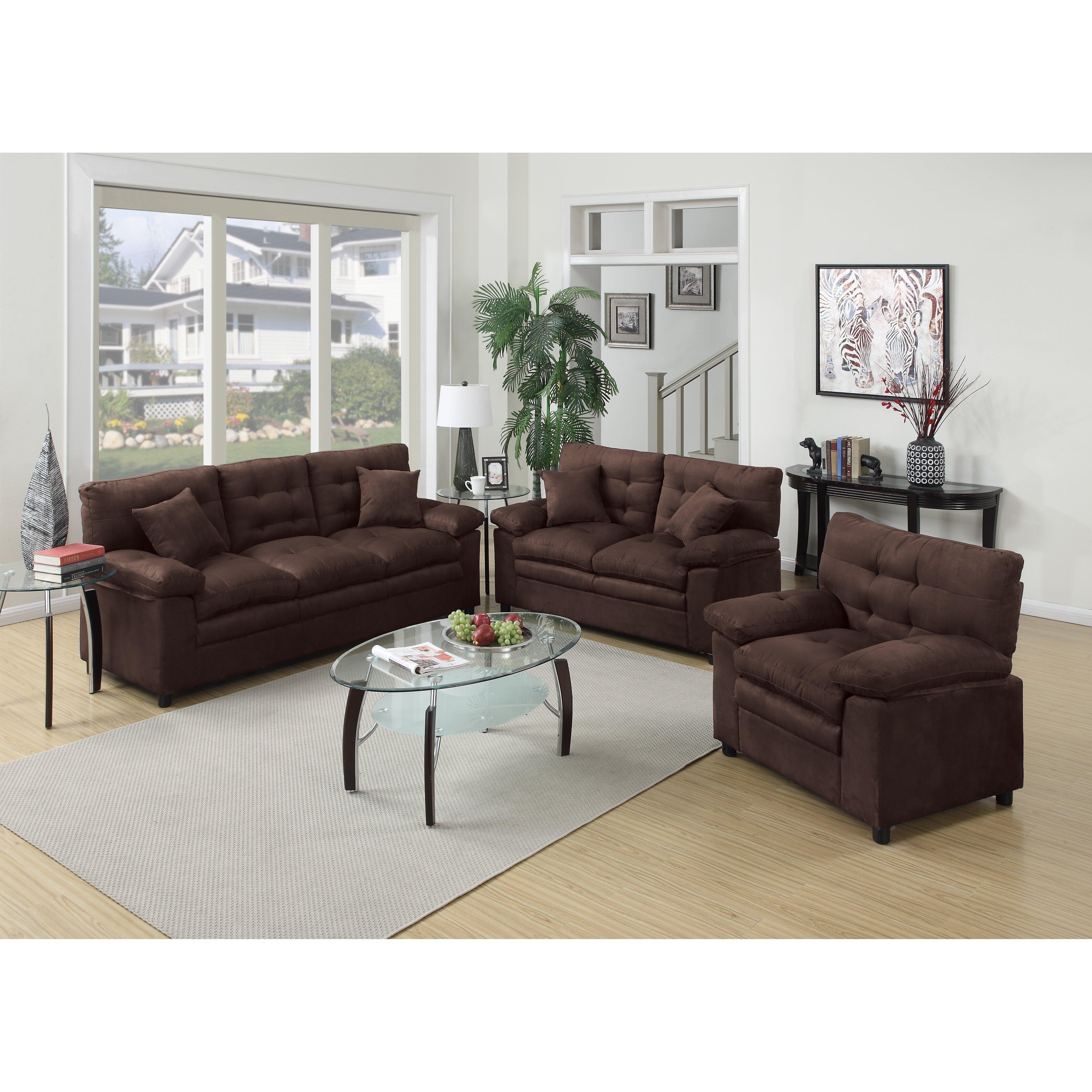 a j homes studio halifax 3 piece living room set reviews wayfair. Black Bedroom Furniture Sets. Home Design Ideas