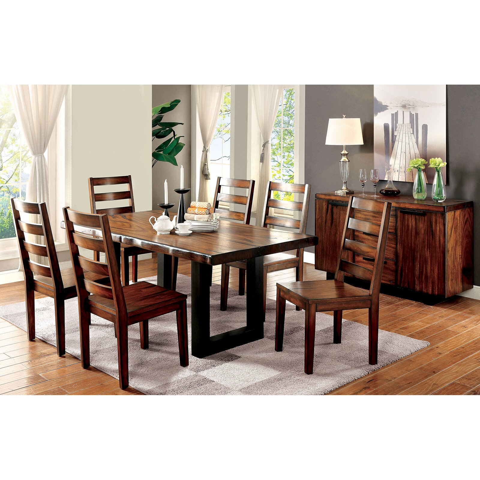A j homes studio maddie dining table for Wayfair dining table