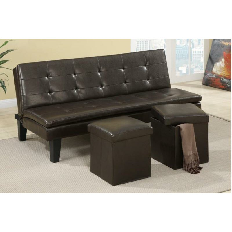 a j homes studio lucas adjustable sleeper sofa wayfair