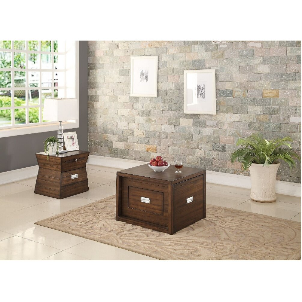 A J Homes Studio Catalina 2 Piece Coffee Table Set Wayfair