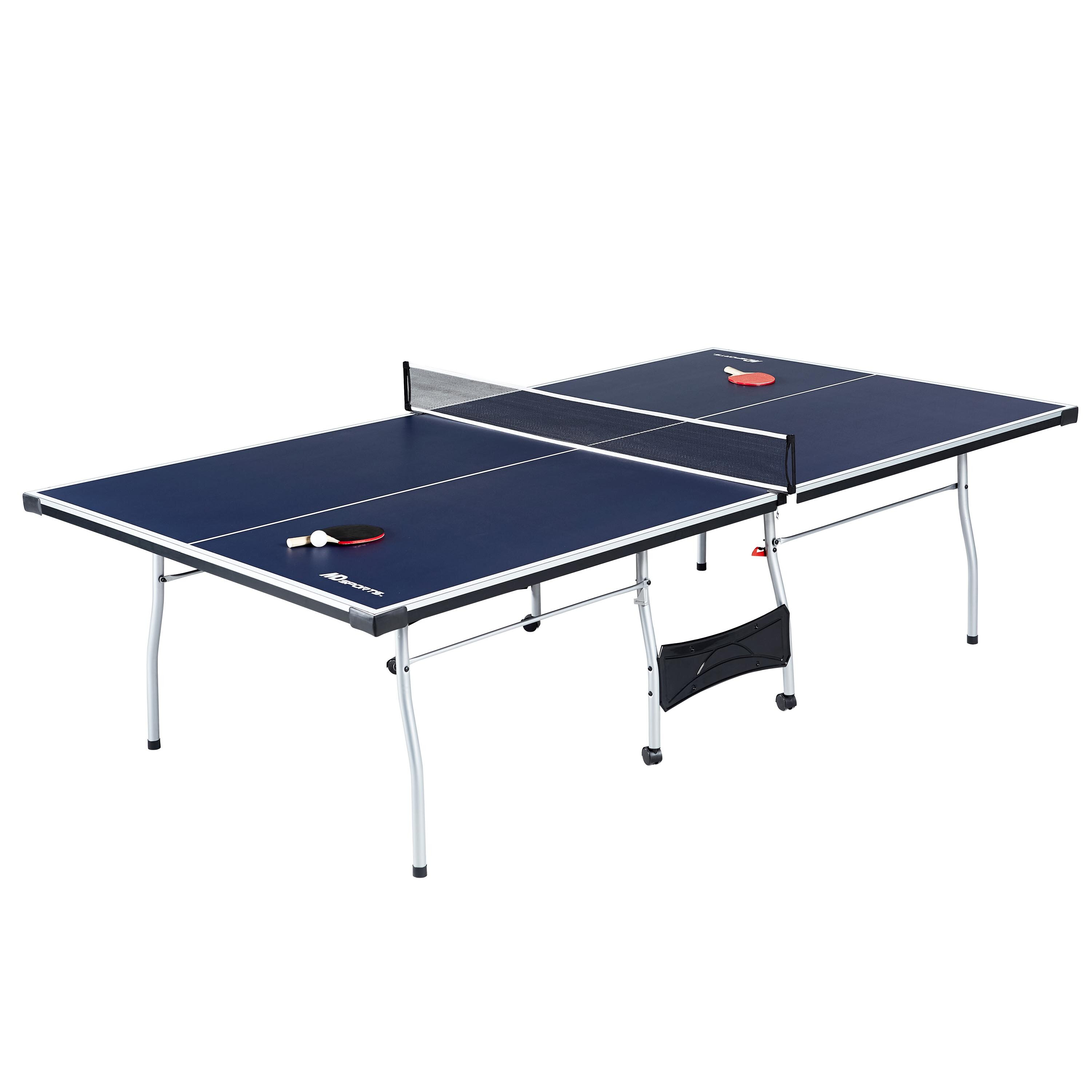 Md sports official size indoor table tennis table - Measurements of a table tennis table ...