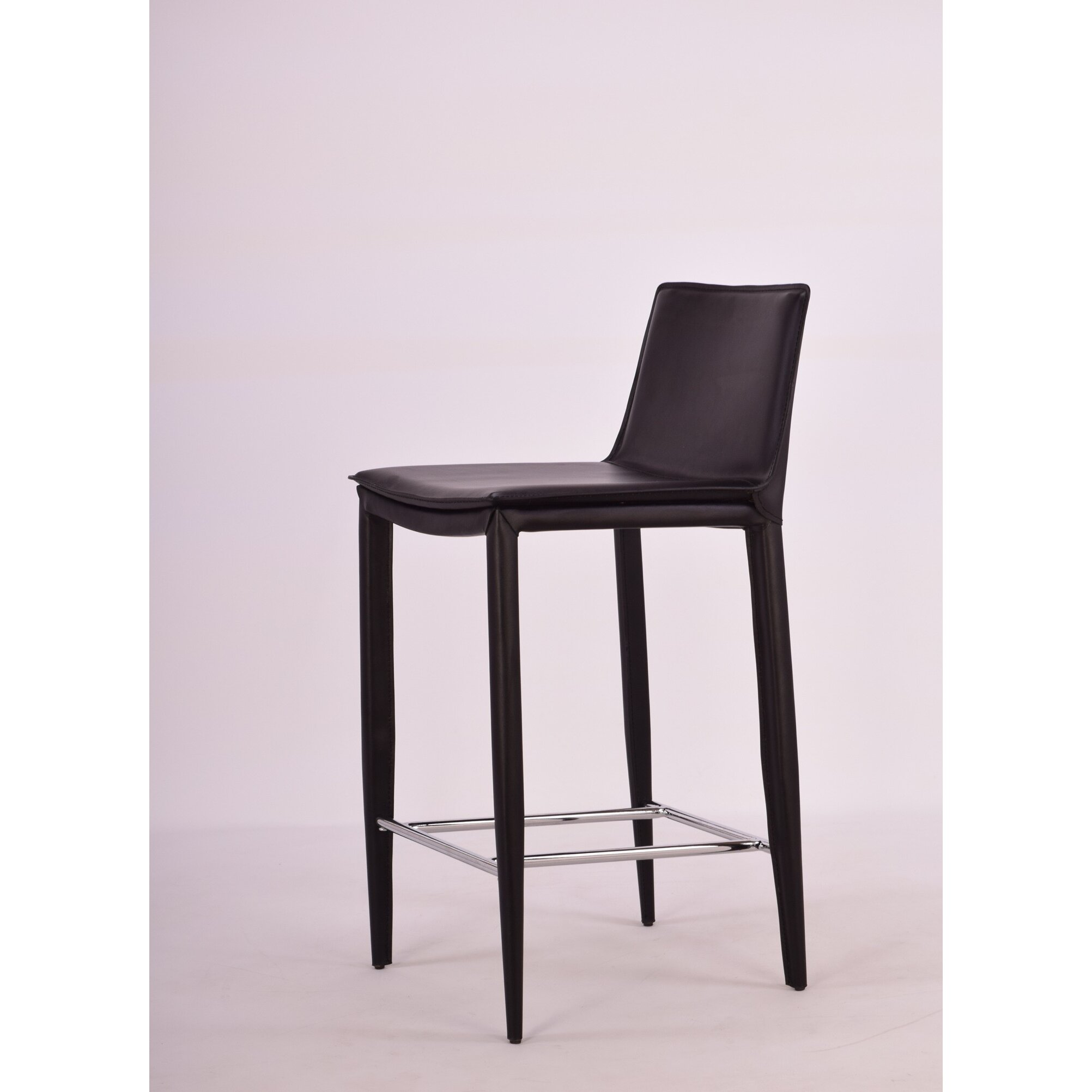 "Contemporary Furniture And Stools: Modern Chairs USA Vesta 24"" Bar Stool & Reviews"