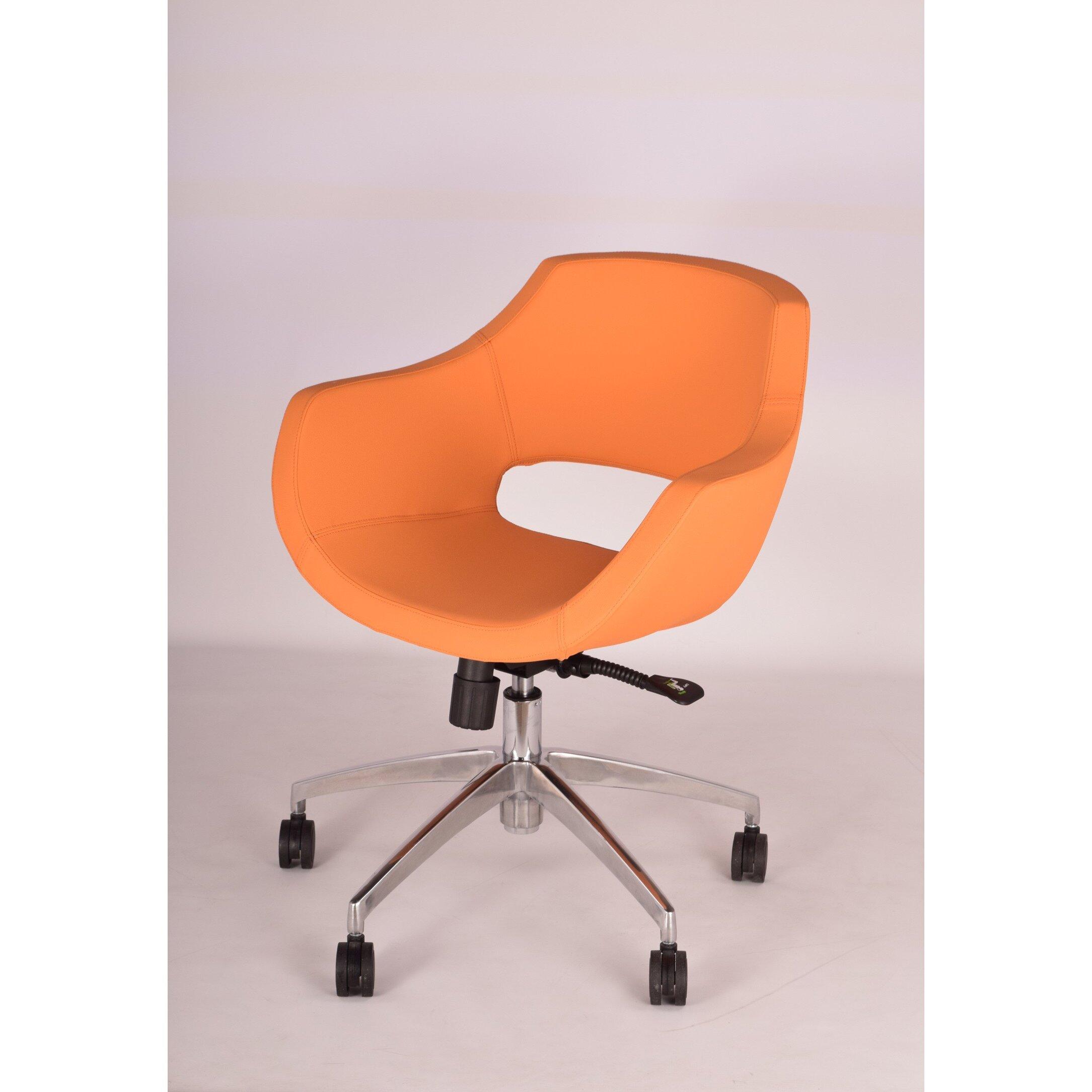Modern Chairs Usa Mid Back Office Chair Reviews Wayfair