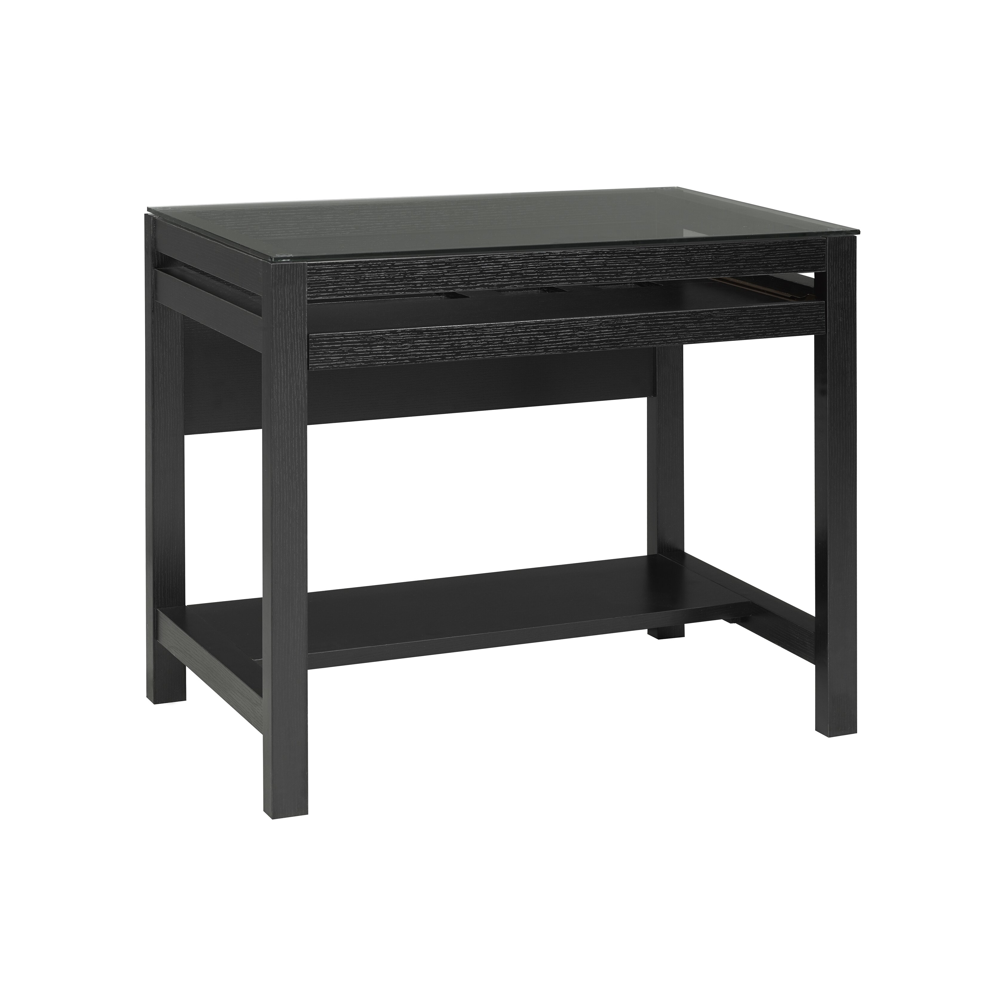 Brassex Computer Desk with Pull Out Keyboard Tray & Reviews | Wayfair.ca