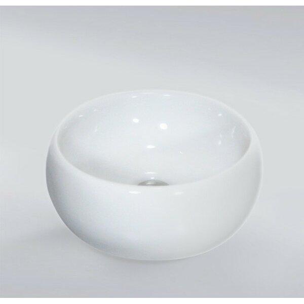 Bathroom Sinks Wayfair inello tamara ceramic vessel bathroom sink | wayfair