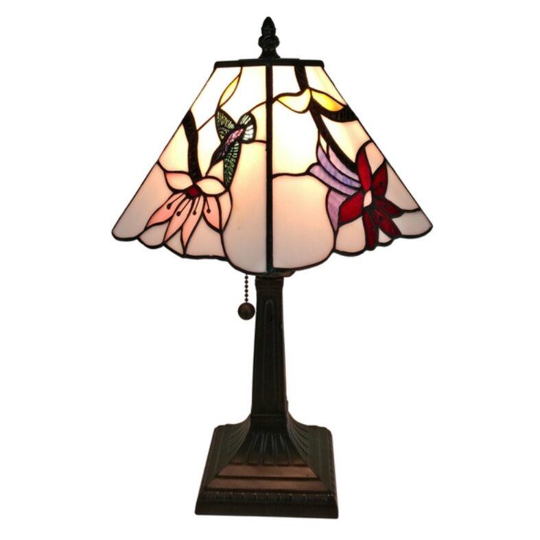 Amoralighting Tiffany Mission 15 Quot Table Lamp Wayfair