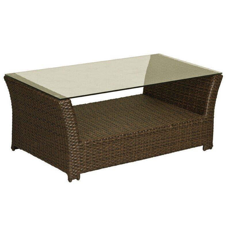 Worldwidewicker charleston coffee table wayfair for Coffee tables 30cm wide