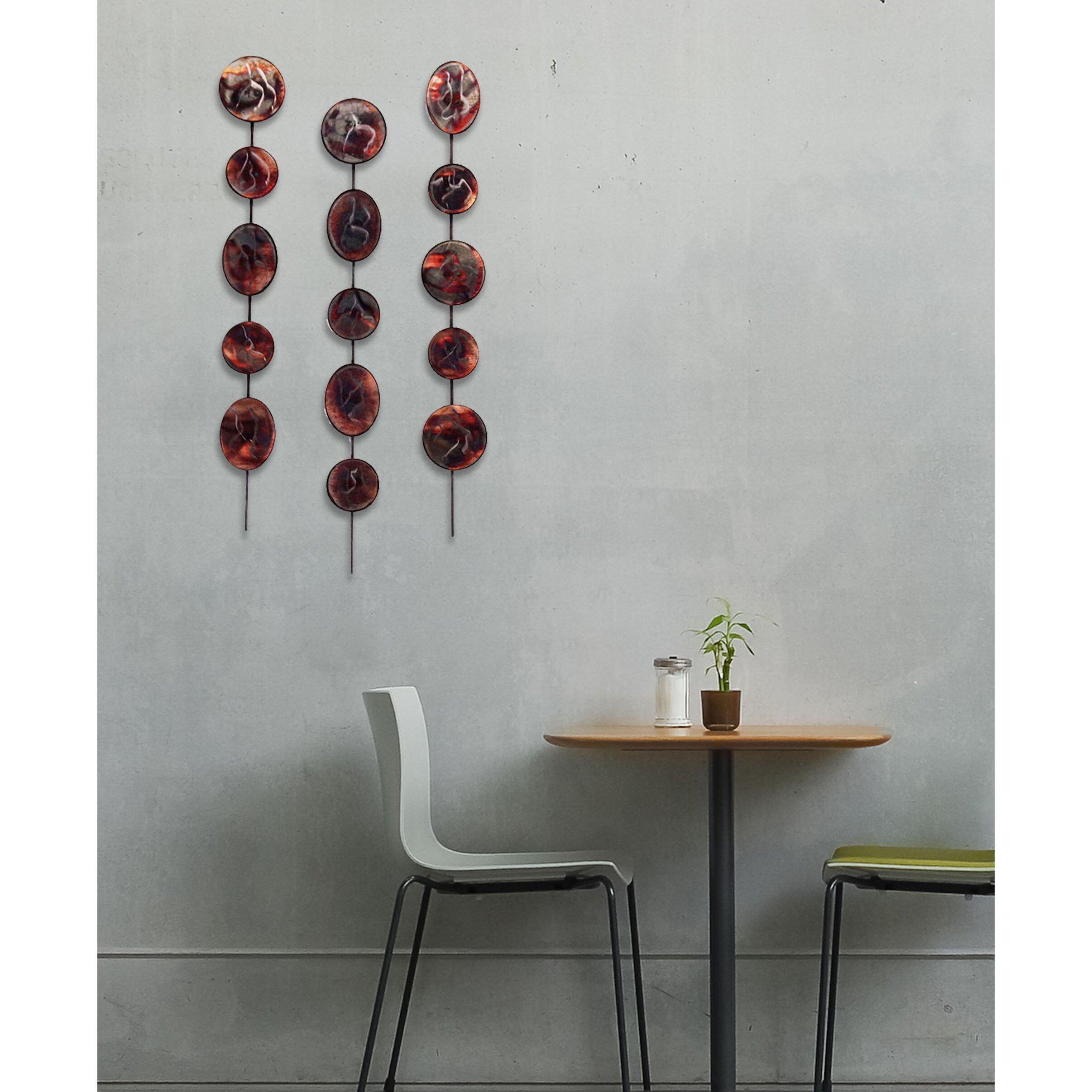 7055 inc 3 piece artisan grape stix wall d cor set. Black Bedroom Furniture Sets. Home Design Ideas