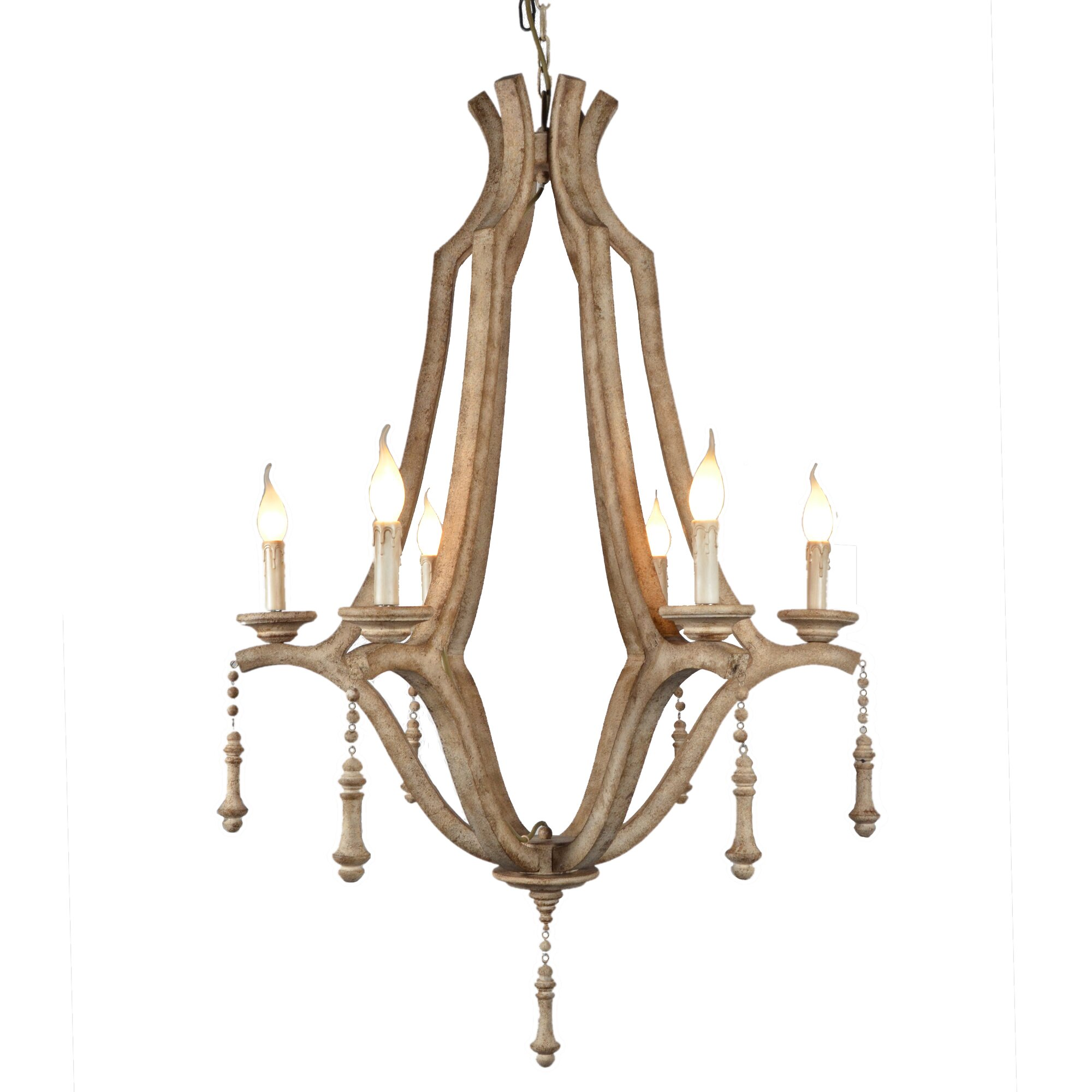 Dining Room Candle Chandelier Y Decor Musella 6 Light Candle Style Chandelier Amp Reviews
