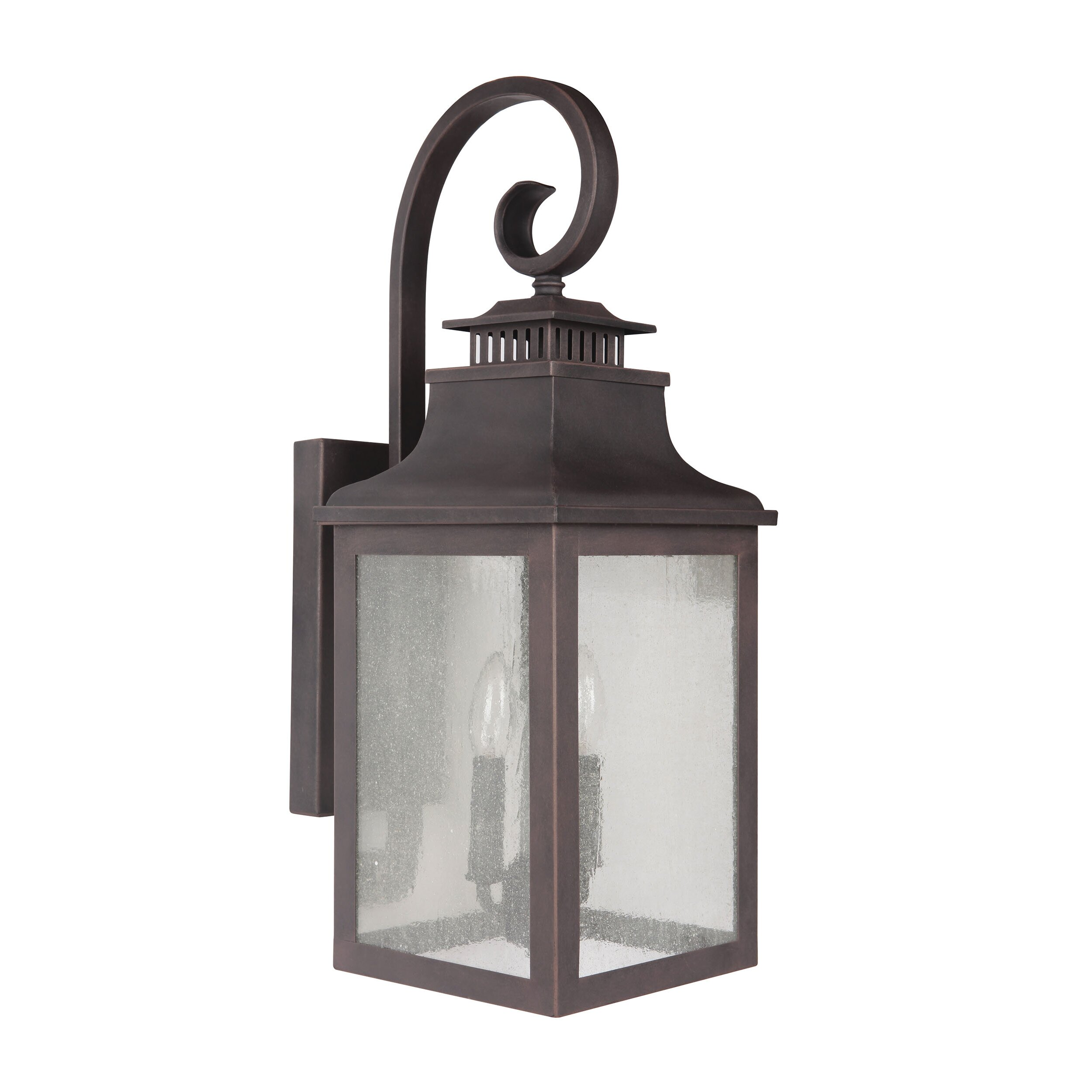 Y Decor Morgan 2 Light Outdoor Wall Lantern & Reviews Wayfair