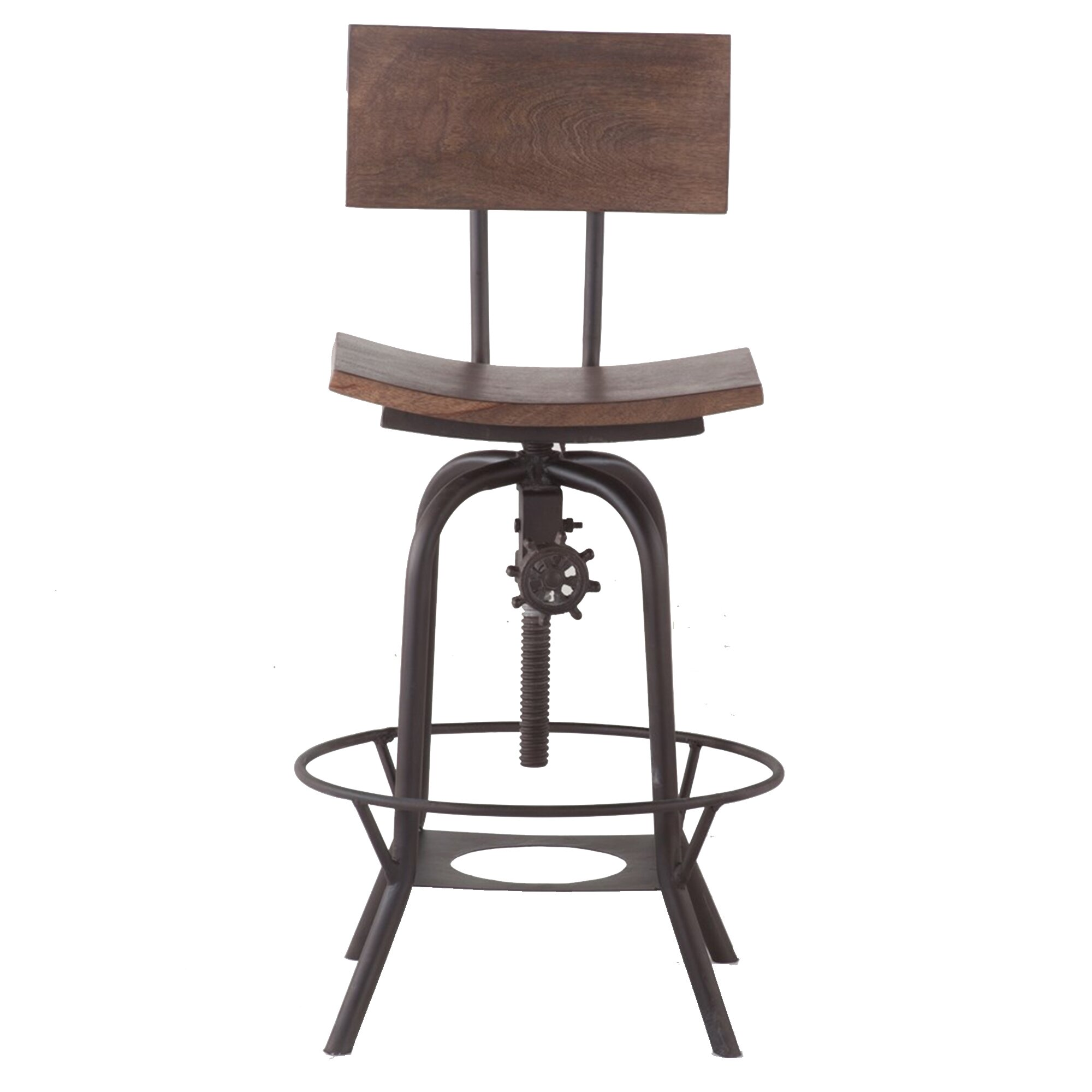 decor adjustable height bar stool reviews