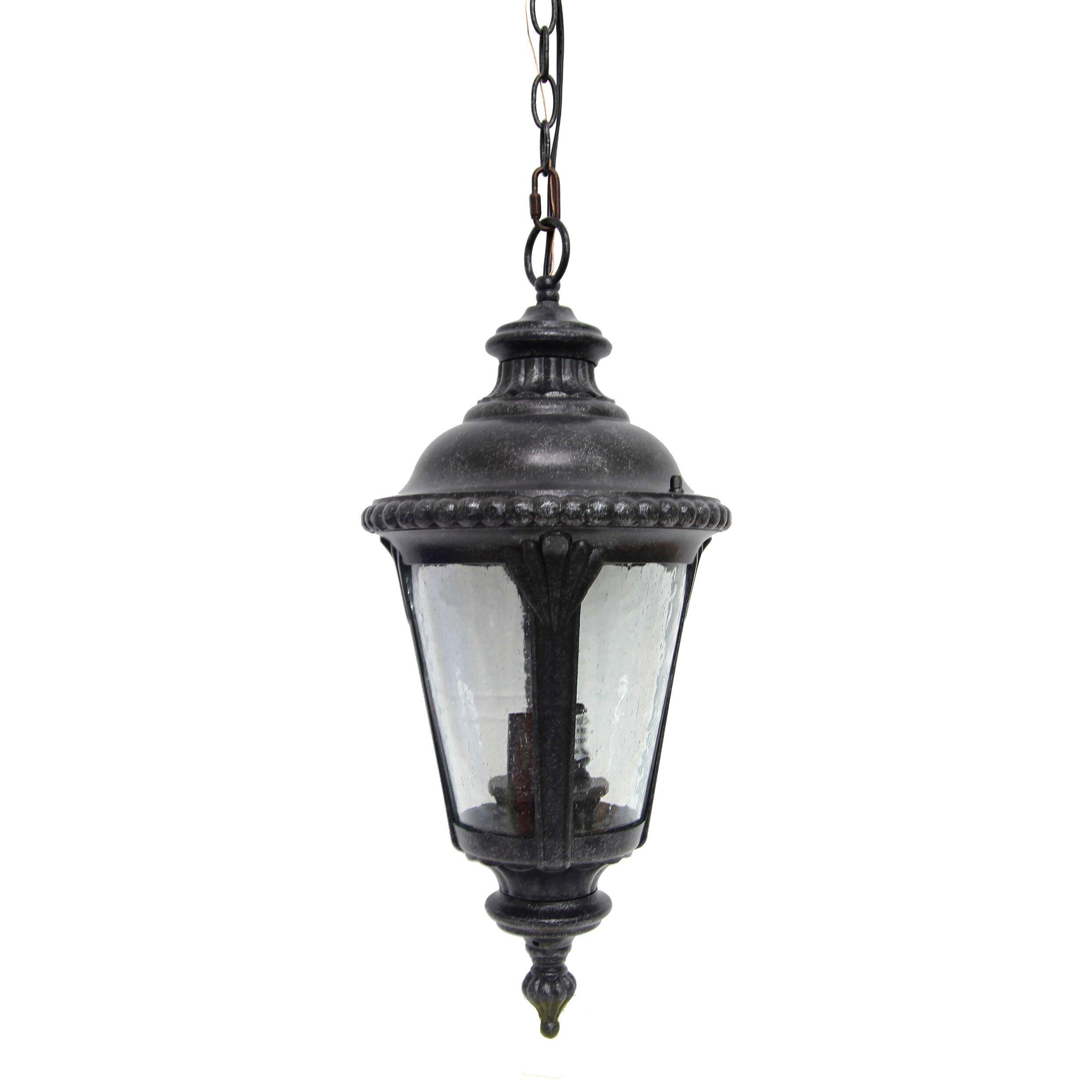 Wayfair Outdoor Hanging Lights: Y Decor Dallin 1 Light Outdoor Hanging Lantern