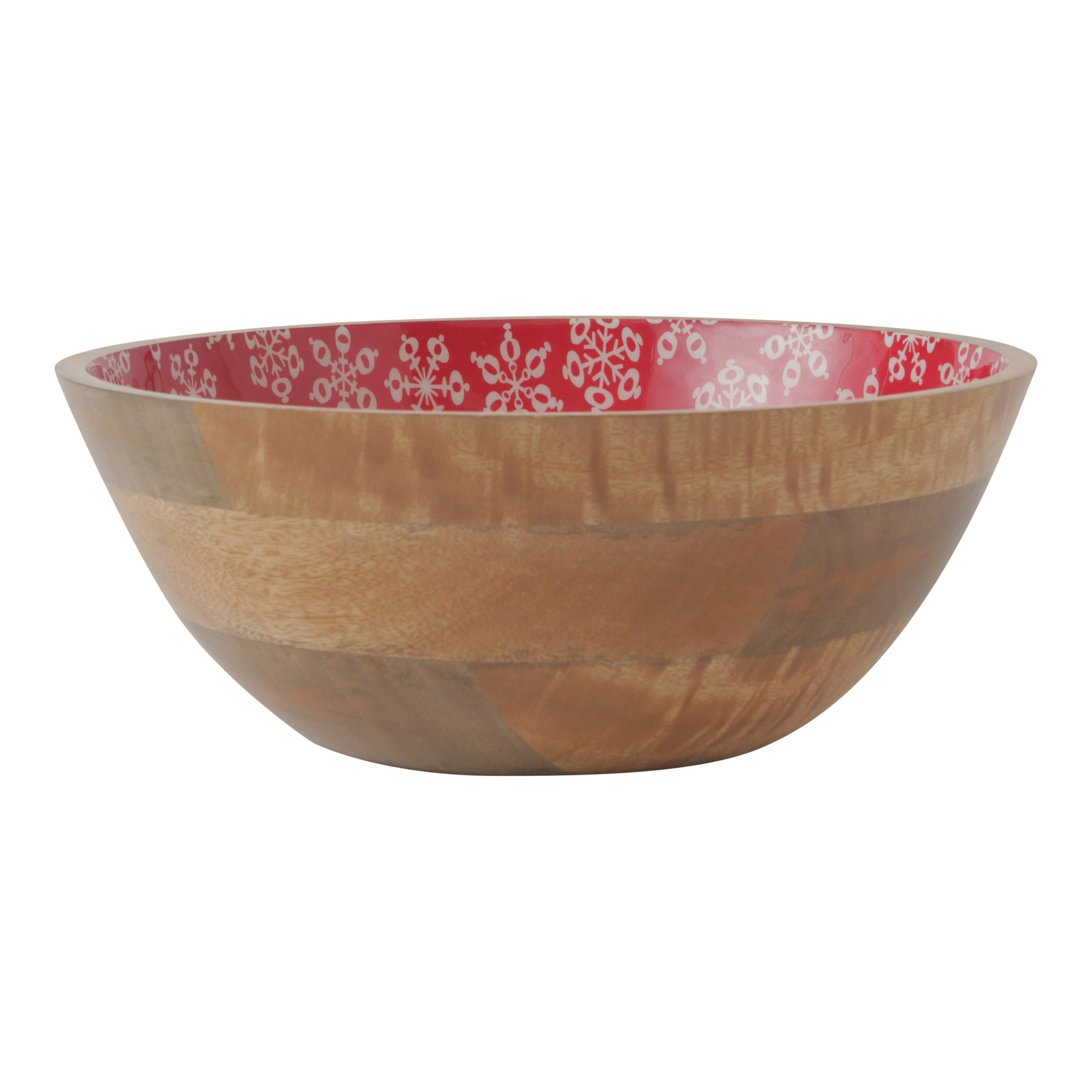Hallmark Home amp Gifts Holiday Serving Bowl amp Reviews Wayfair : Holiday Mango Wood Serving Bowl 1MJB578 from www.wayfair.com size 3000 x 3000 jpeg 269kB
