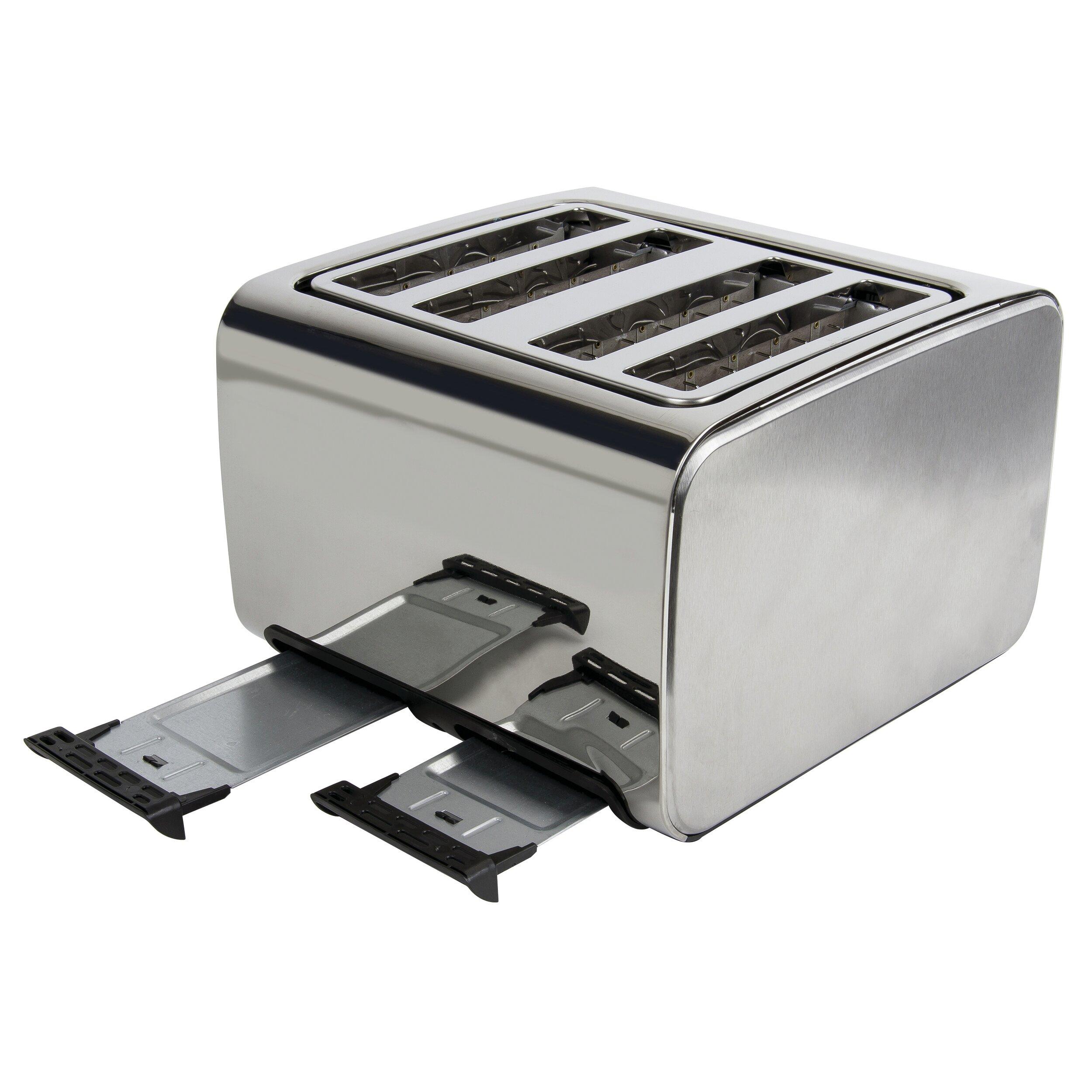 Glass Toaster 4 Slice ~ Igenix slice toaster wayfair uk
