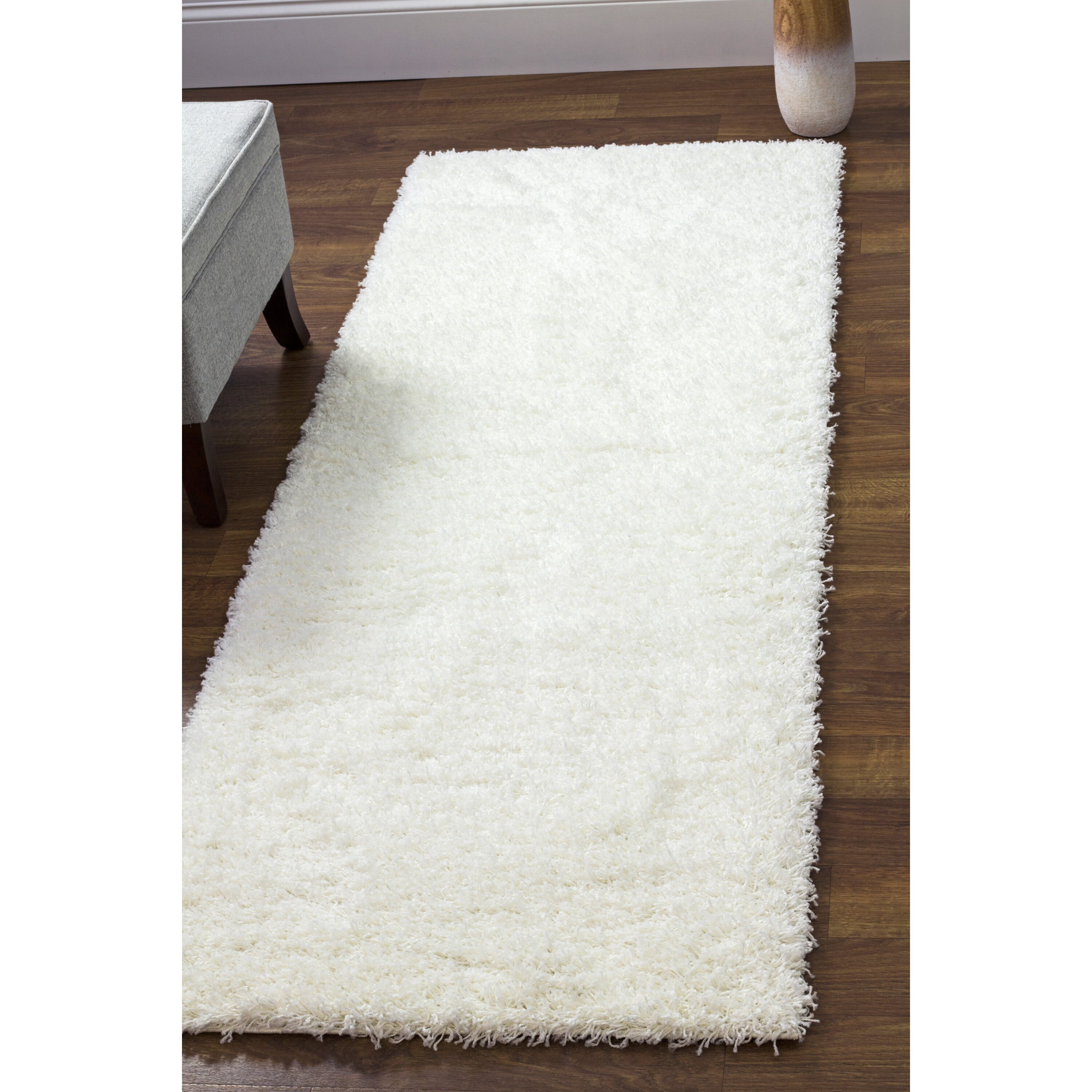 Super Area Rugs White Area Rug & Reviews