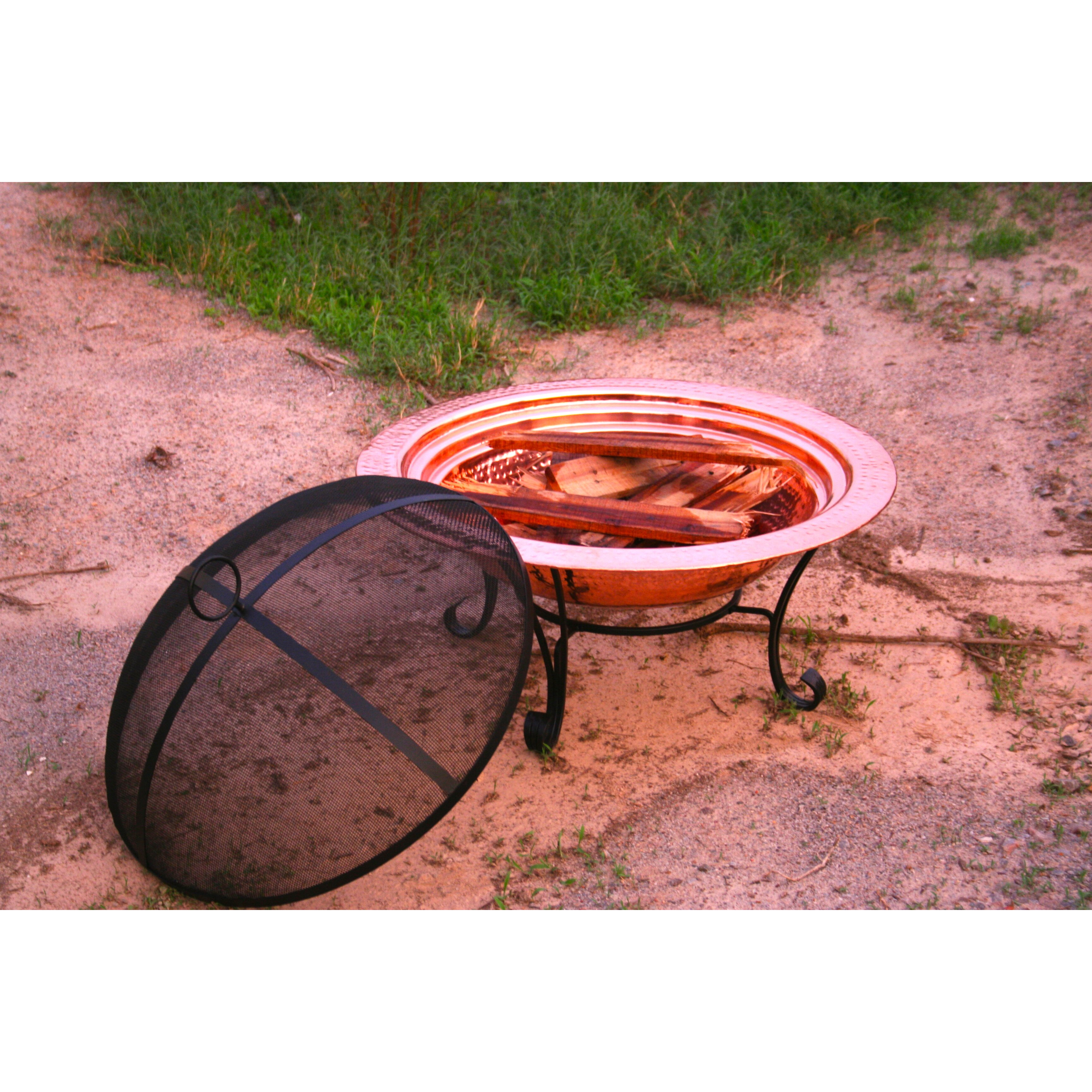 Pomegranate Solutions Fire Pit Spark Screen Wayfair