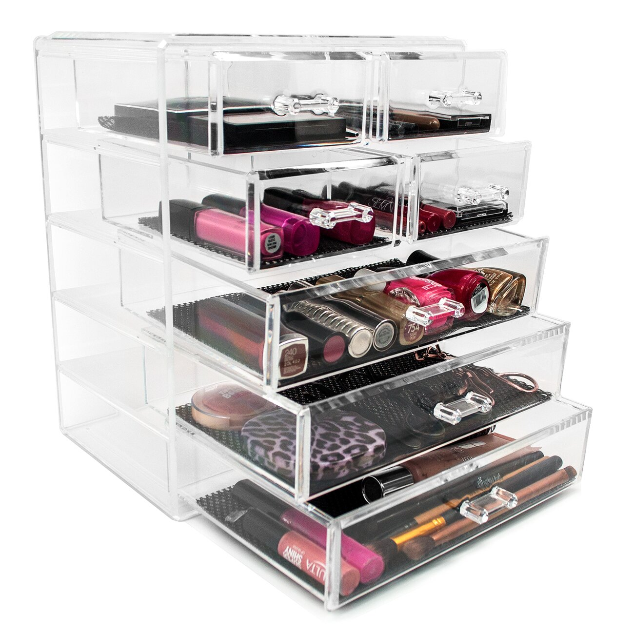 Sorbus Acrylic Makeup Organizer With Removable Drawers
