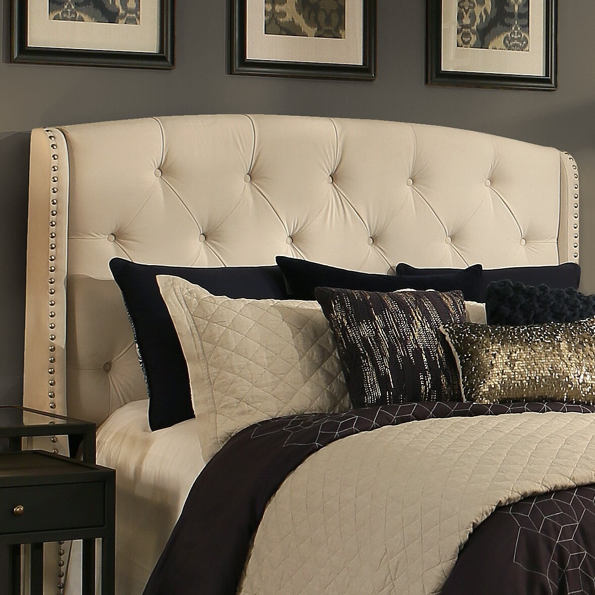 Republicdesignhouse Peyton Upholstered Wingback Headboard