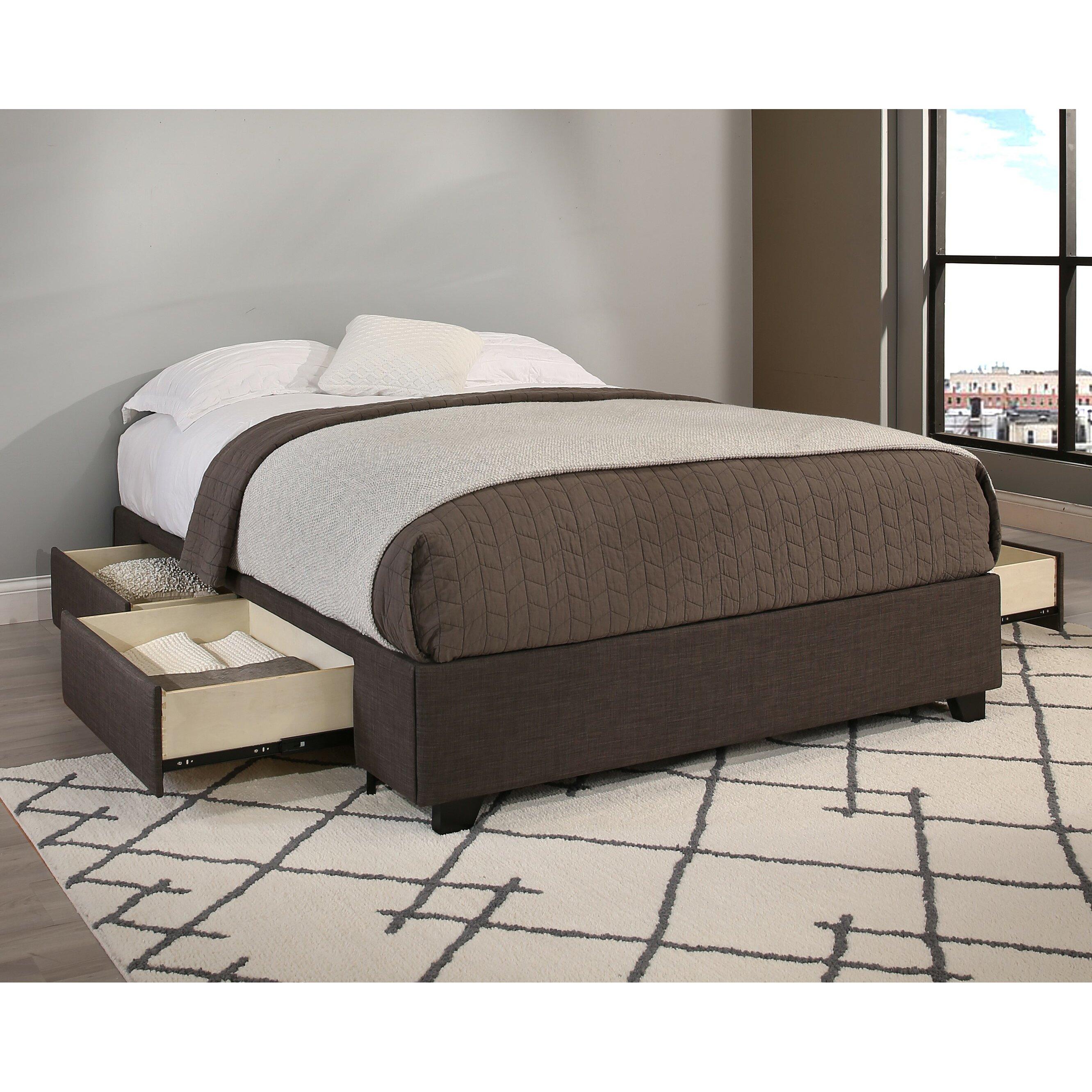 Republicdesignhouse Premium Upholstered Storage Platform
