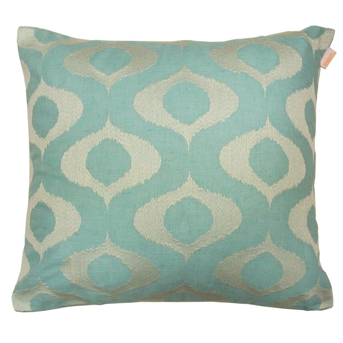 Artistic Linen Tyra Embroidered Decorative Linen-blend Throw Pillow & Reviews Wayfair