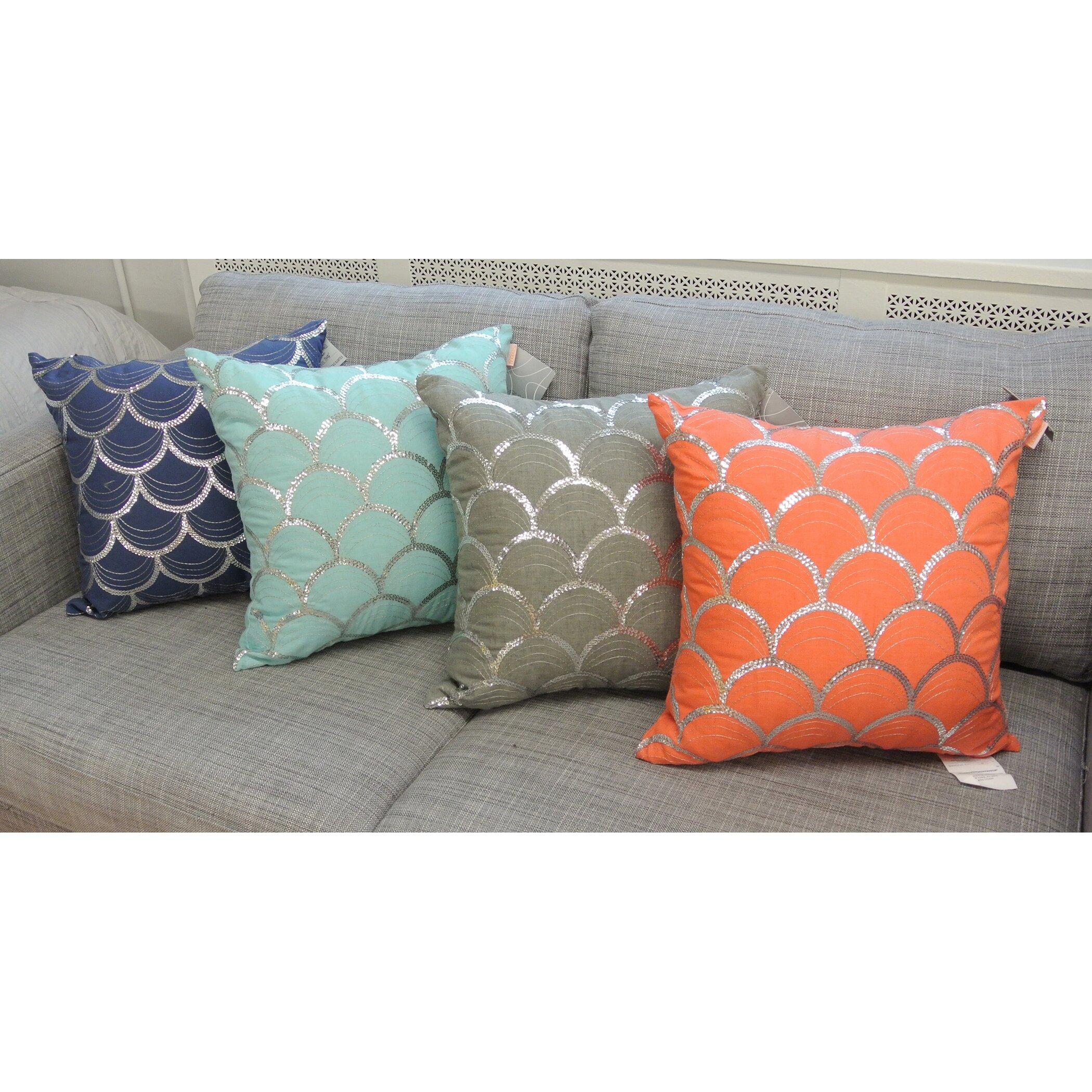 Wayfair Decorative Throw Pillows : Artistic Linen Suzanne Square Decorative Throw Pillow & Reviews Wayfair.ca