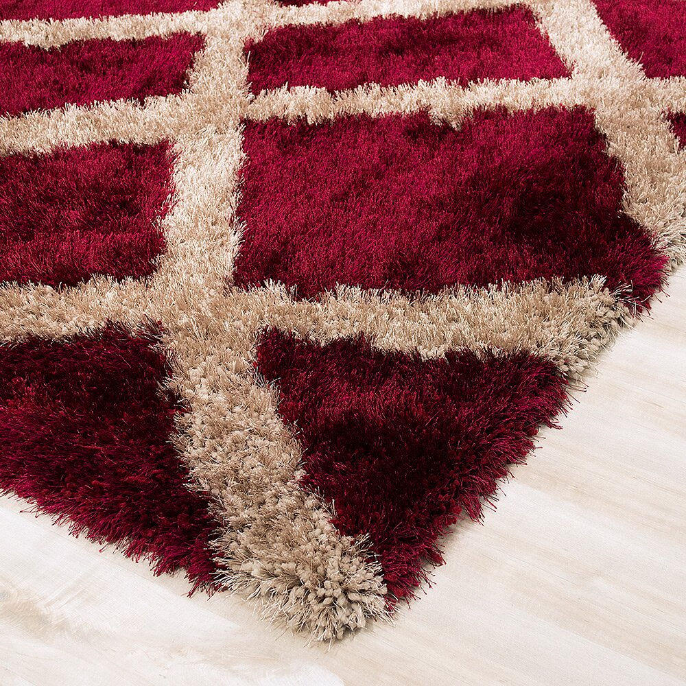 Allstar Rugs Burgundy Area Rug Wayfair Ca
