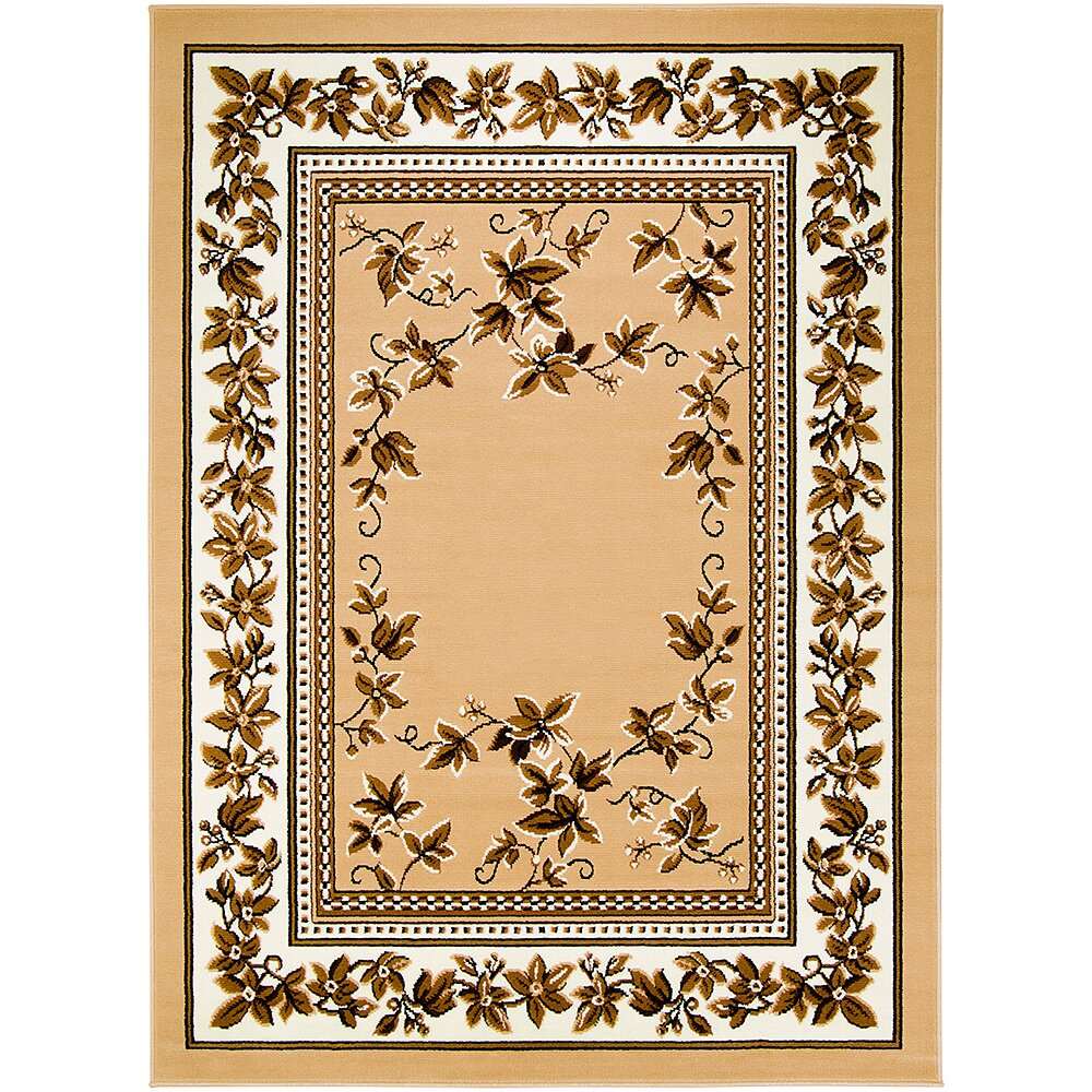 Allstar rugs brown area rug reviews wayfair for Carpets and area rugs