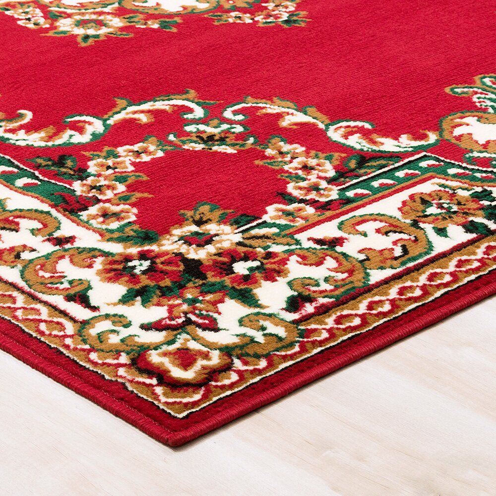 AllStar Rugs Red Area Rug & Reviews