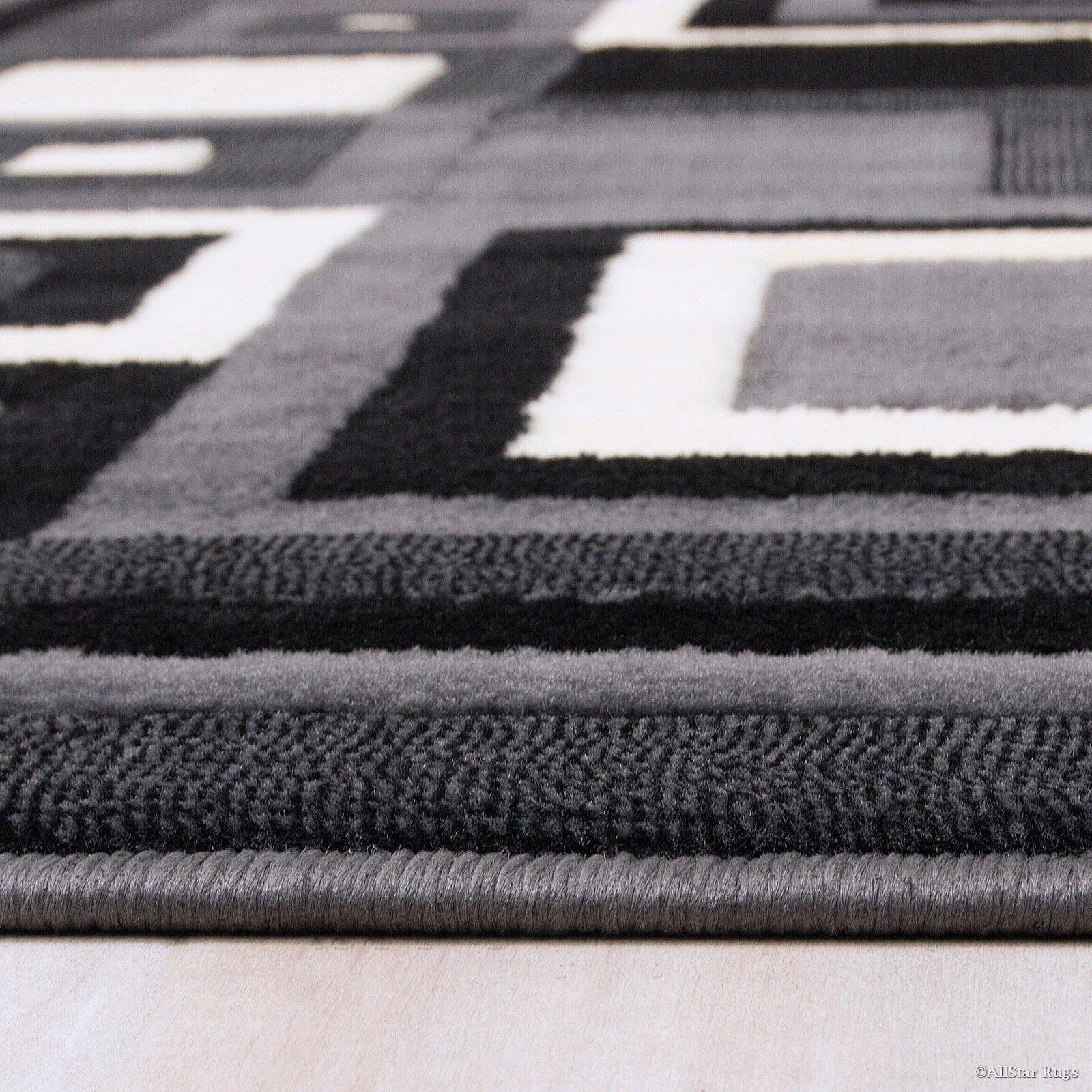 AllStar Rugs Hand-Woven Grey/Black Area Rug & Reviews ...