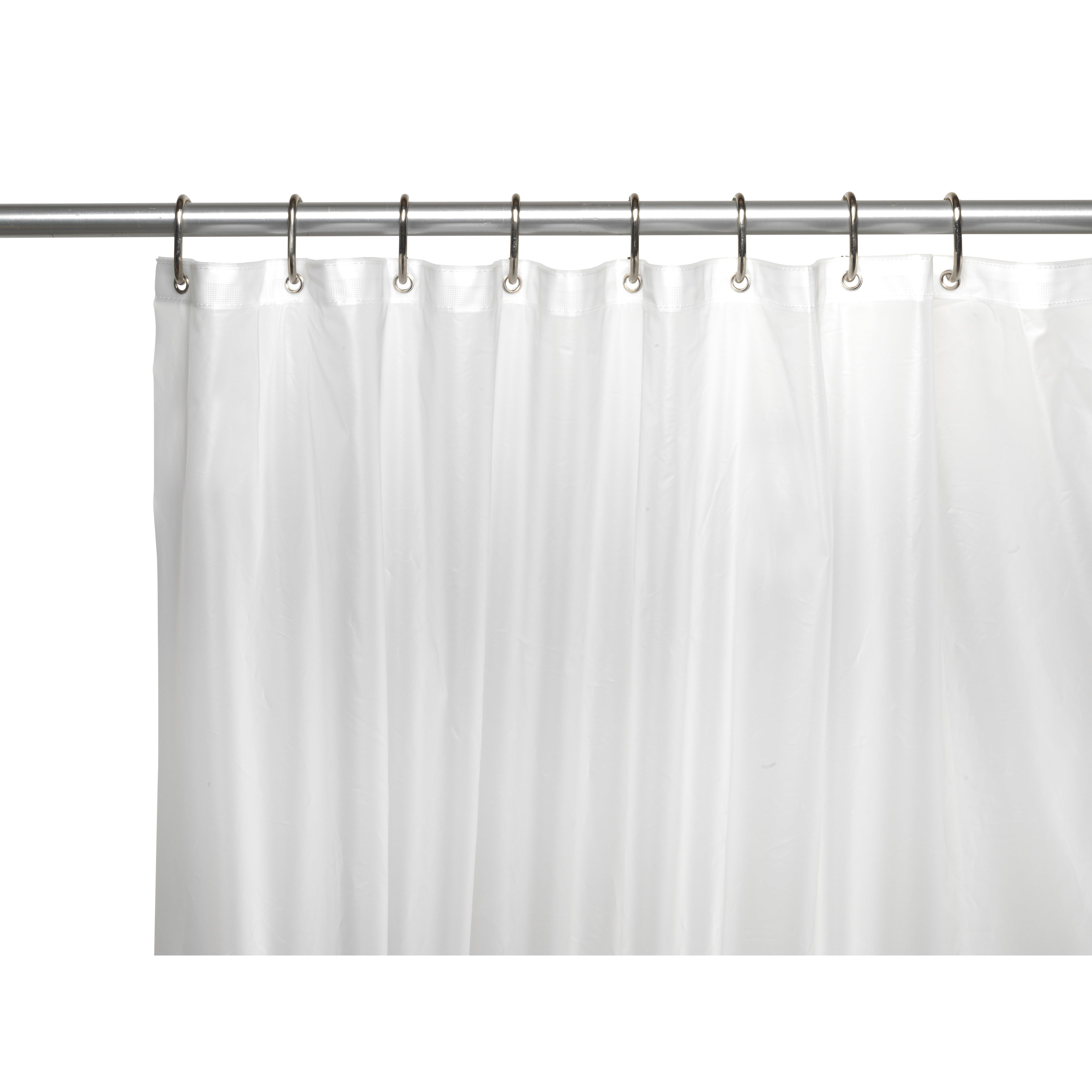 Ben And Jonah Clean Home Peva Shower Curtain Liner Reviews Wayfair