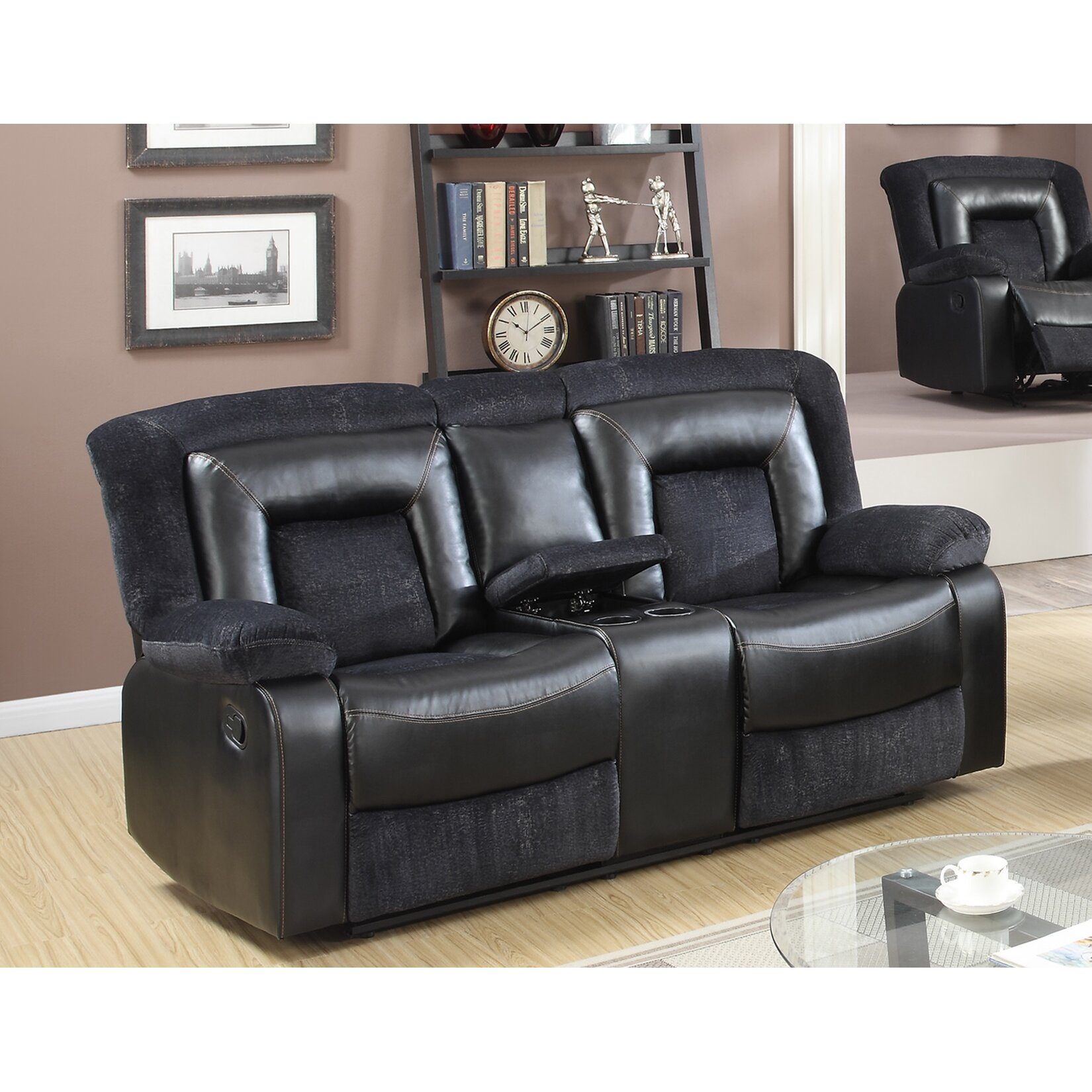 Best quality furniture recliner loveseat wayfair for Best quality furniture