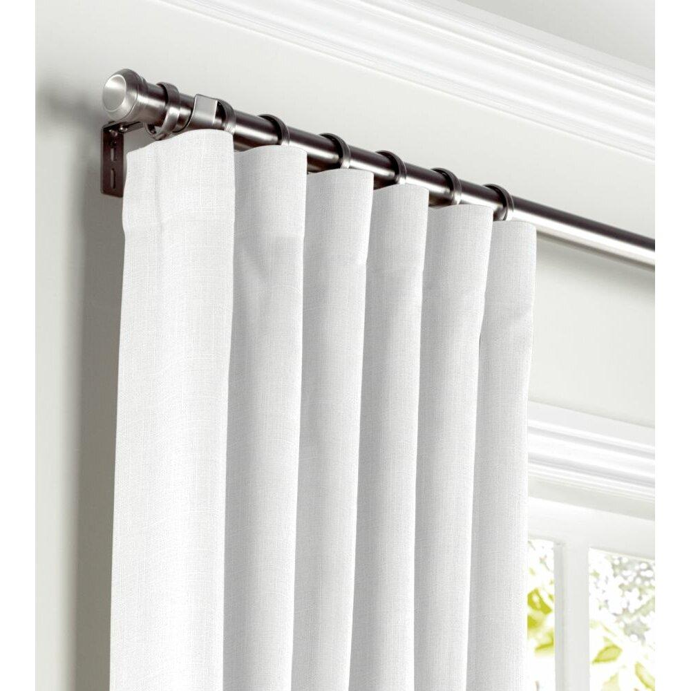 loom decor convertible blackout single curtain panel wayfair