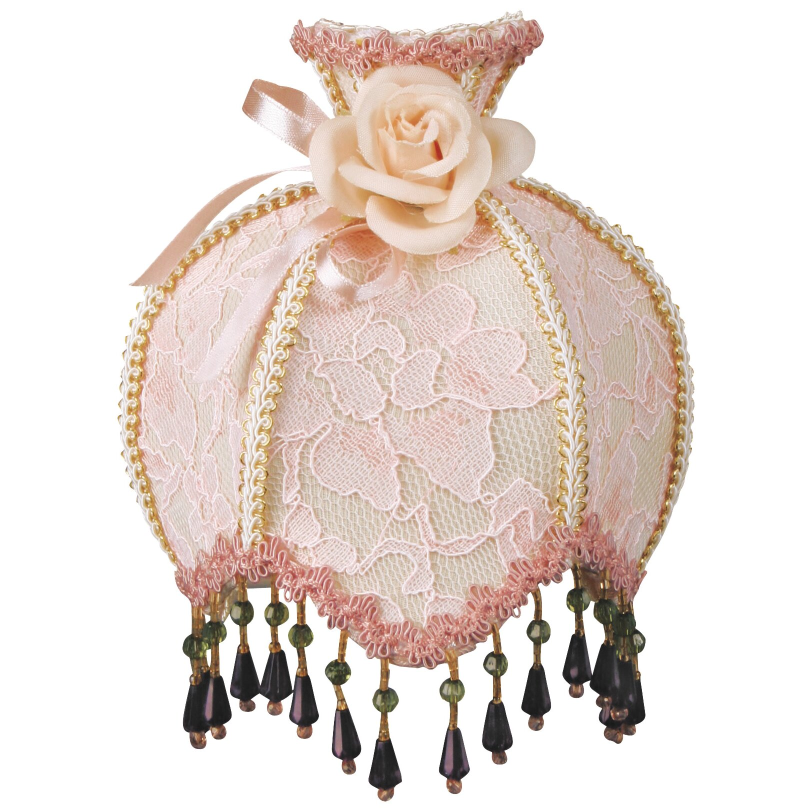 Victorian night lamps - Royal Designs Beaded Victorian Night Light